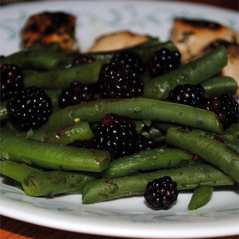 Fresh Oregano and Blackberry Green Beans Pam Ziegler Lutz