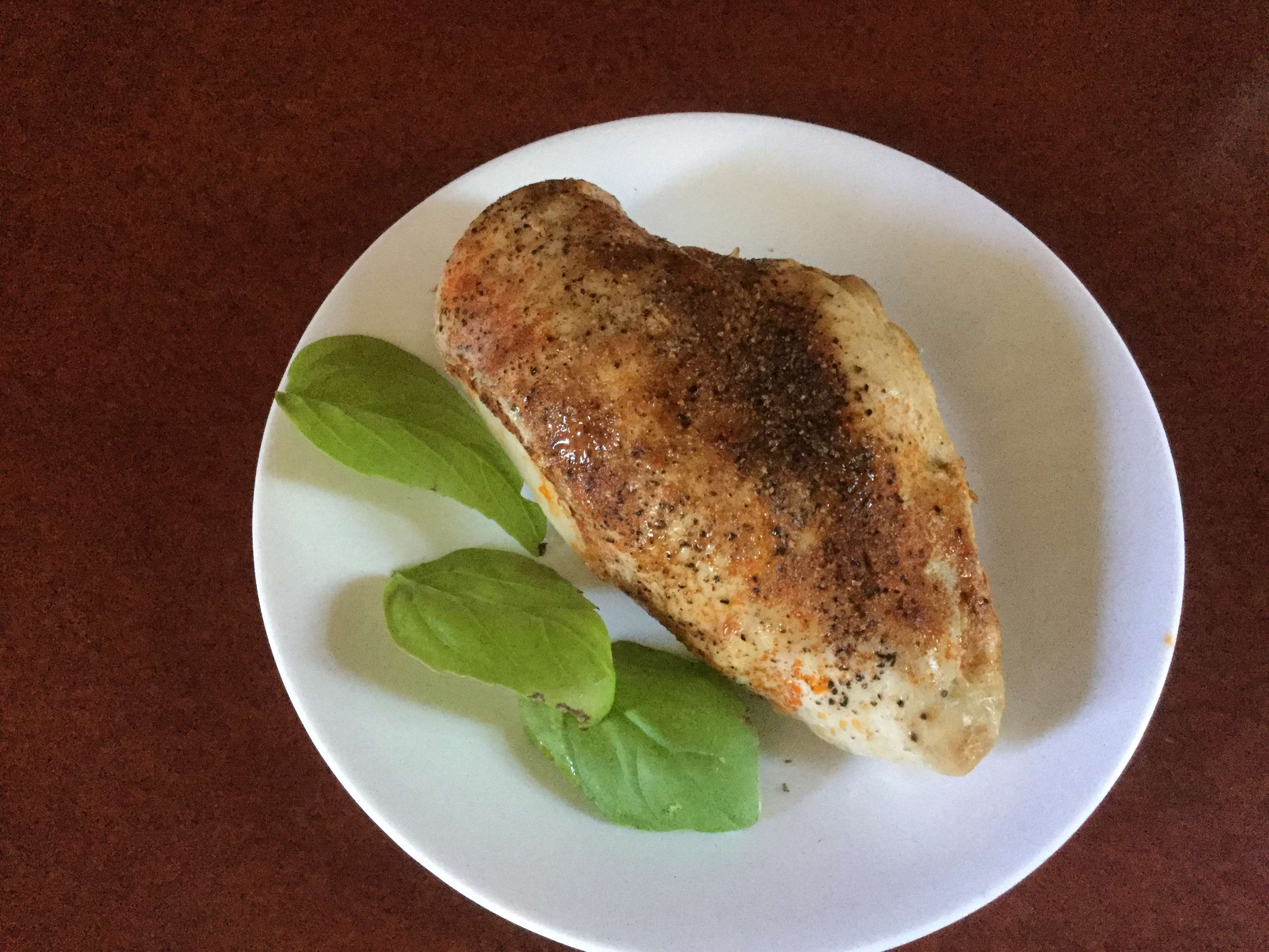 Healthier Baked Chicken Breasts manella