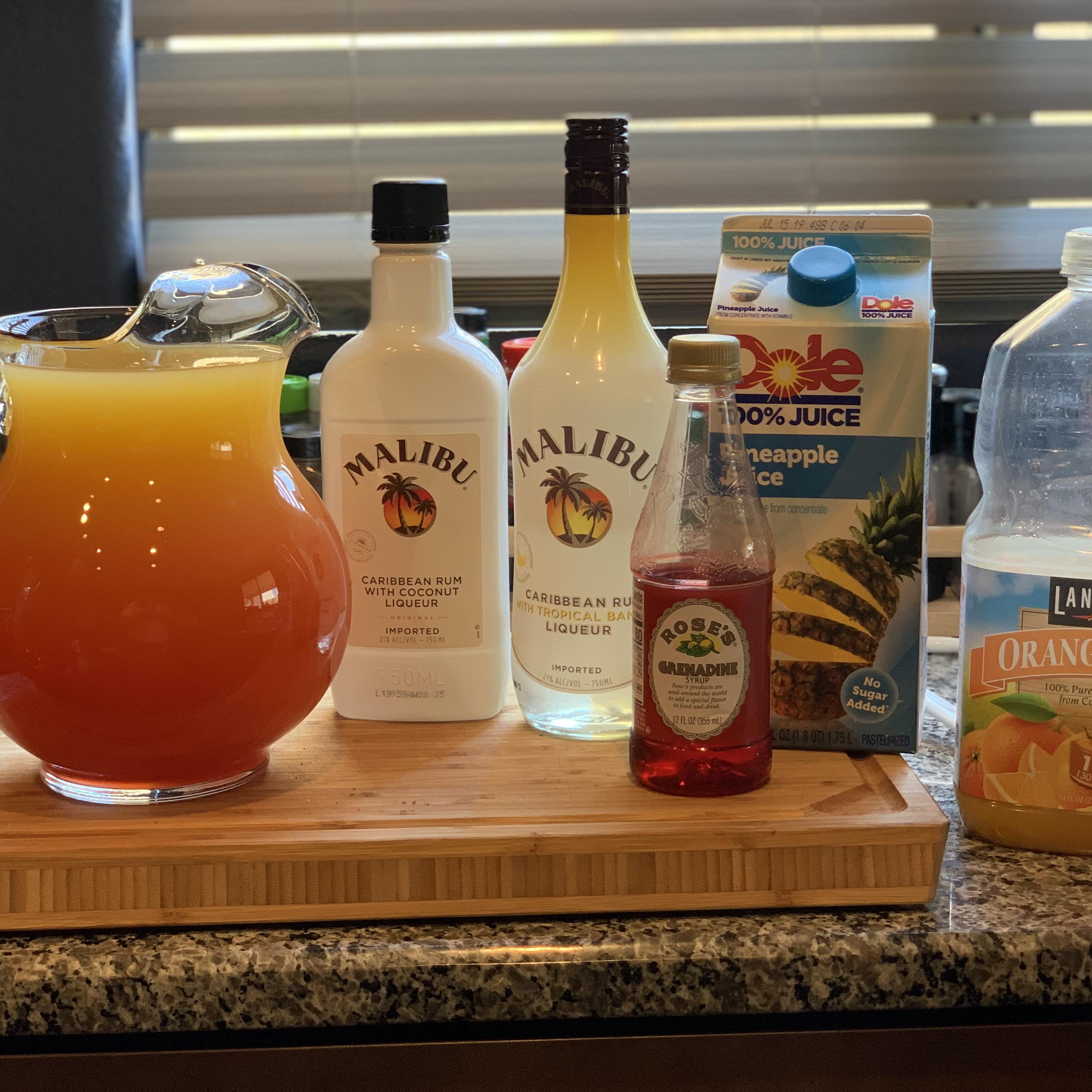 Bahama Mama Celebration Drink Lawrence E. Abraham