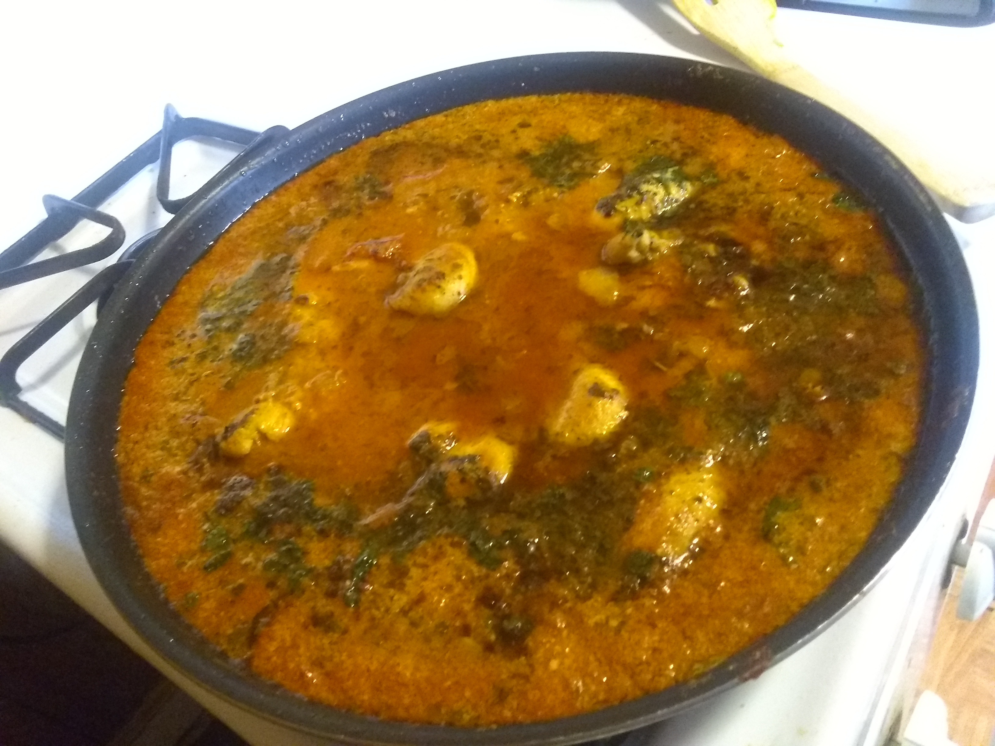 Indian Chicken Curry (Murgh Kari)