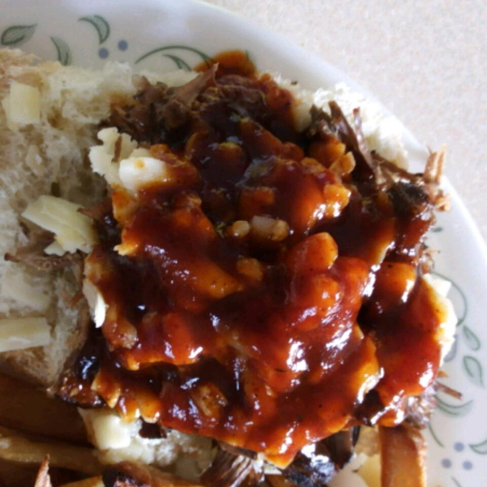 Southern Barbeque Pulled Beef Sandwiches