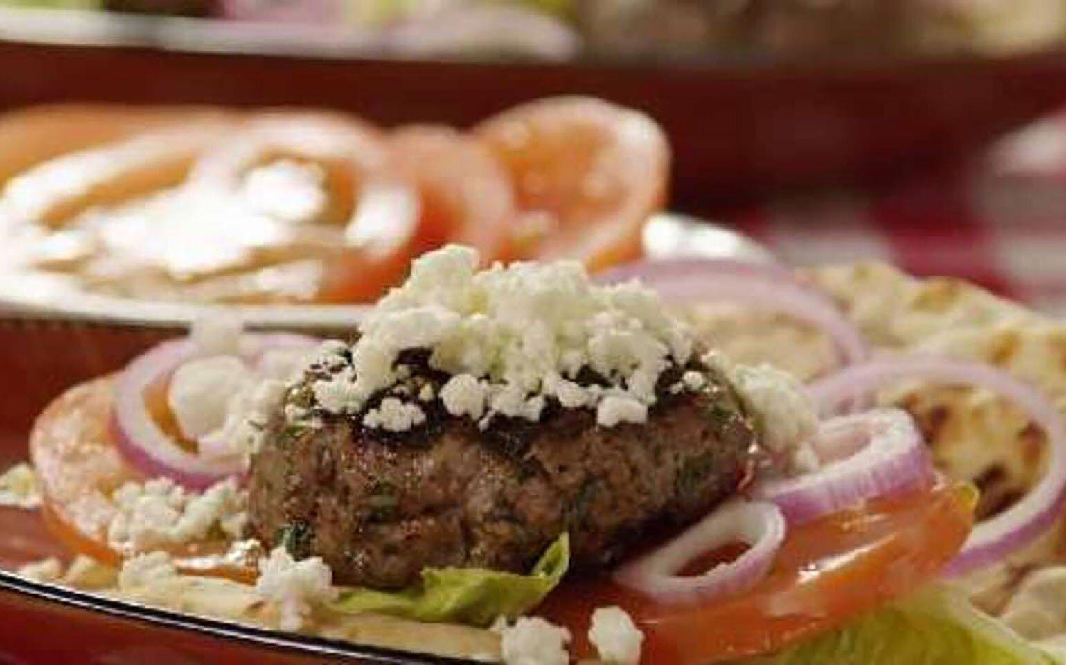 Grilled Spicy Lamb Burgers Recipe Allrecipes