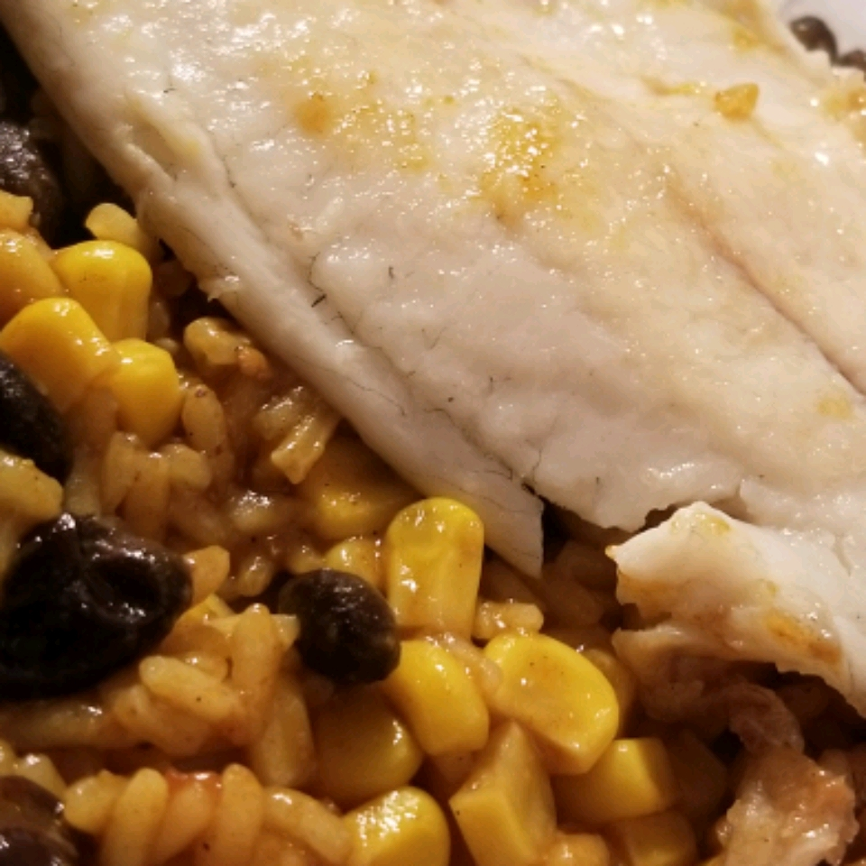Hispanic Tilapia and Rice Bowl Amber Bobst Hall