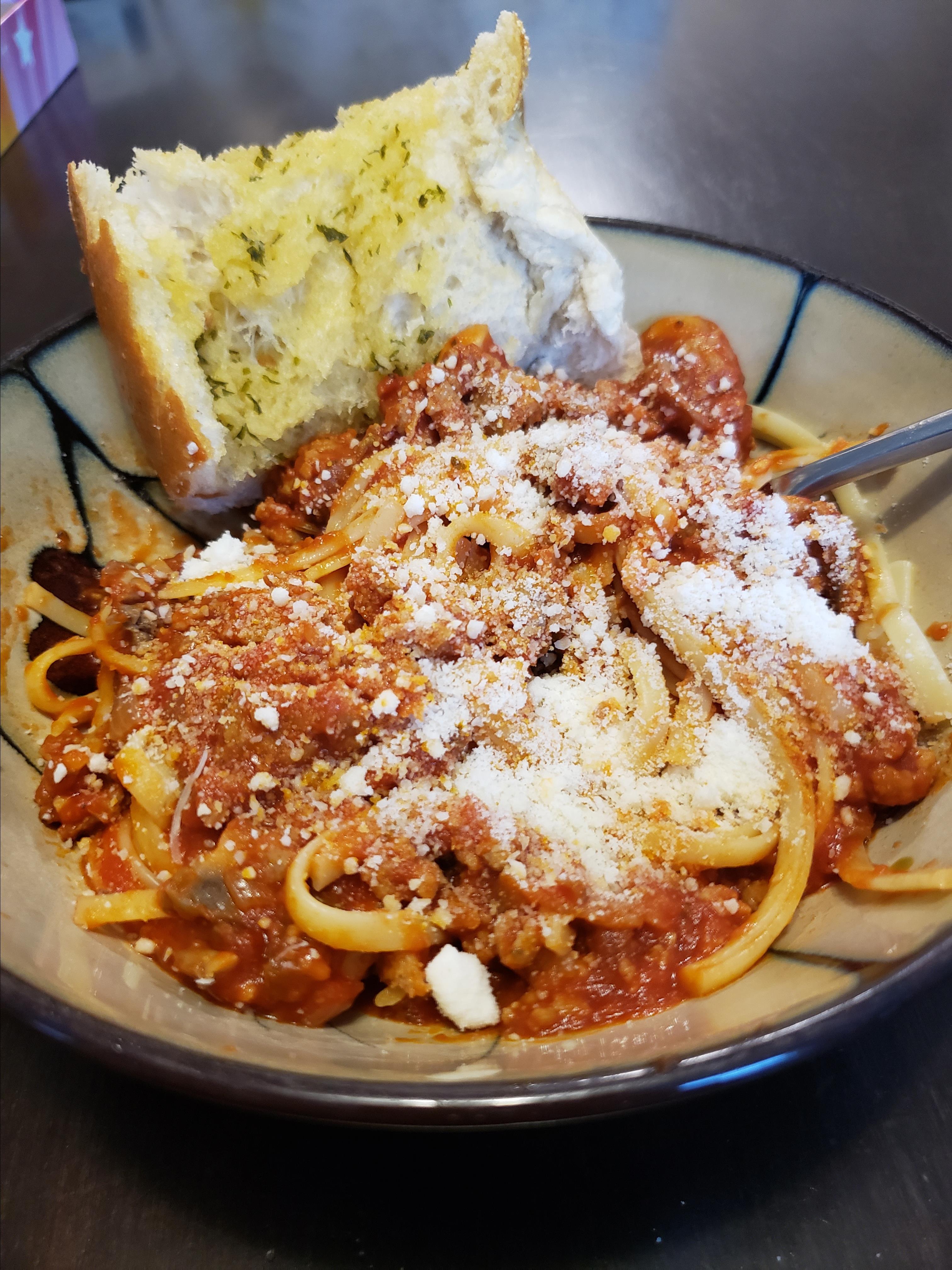 Easy Italian Sausage Spaghetti Stacy McGregor