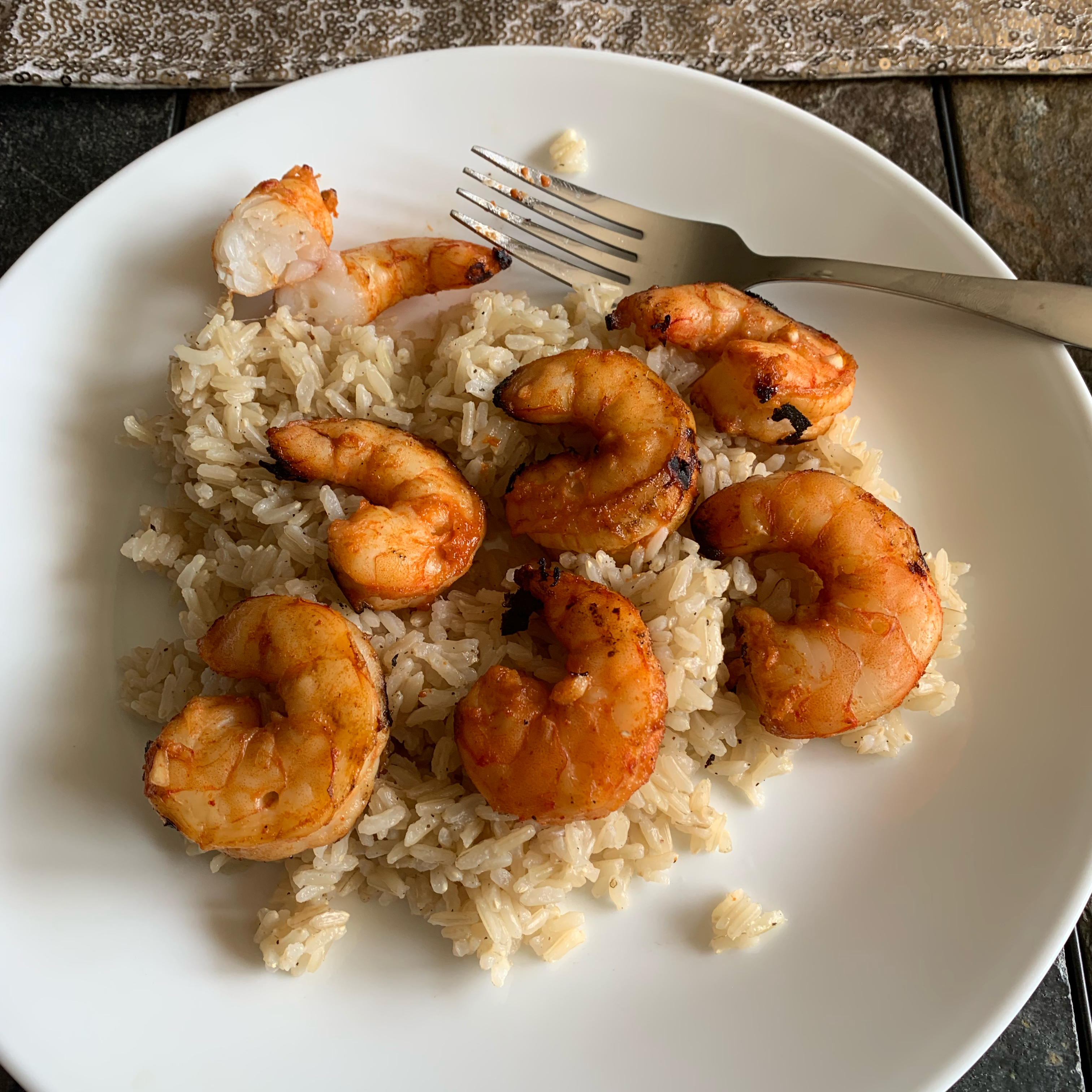 Thai Spiced Barbecue Shrimp Benjamin Dolpp
