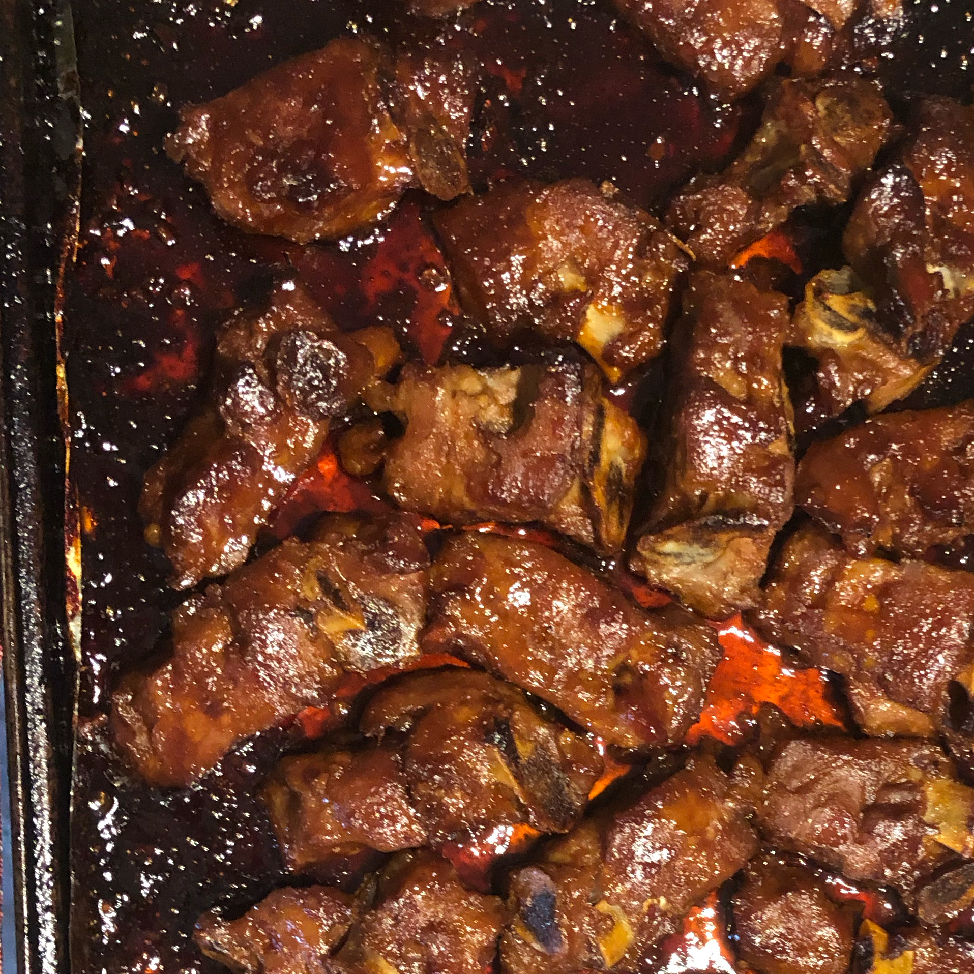 Spicy Chinese Barbeque Riblets Shannon Kannas