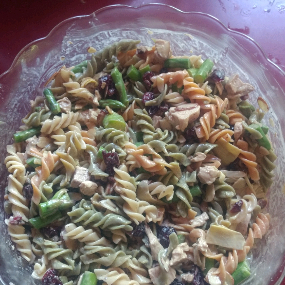 Asparagus and Artichoke Pasta Salad Laurie