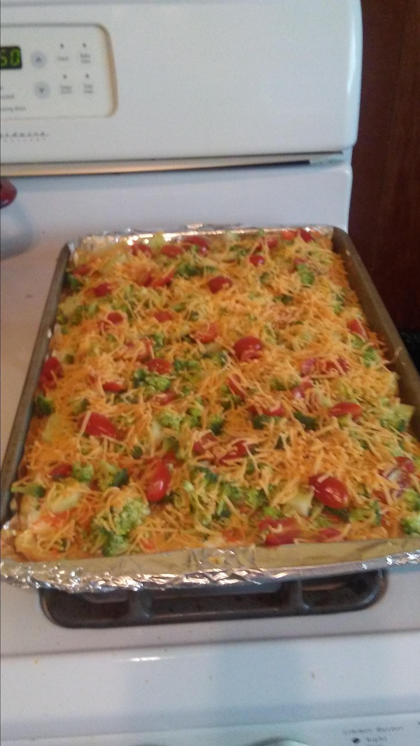 Vegetable Pizza Melanie Carroll