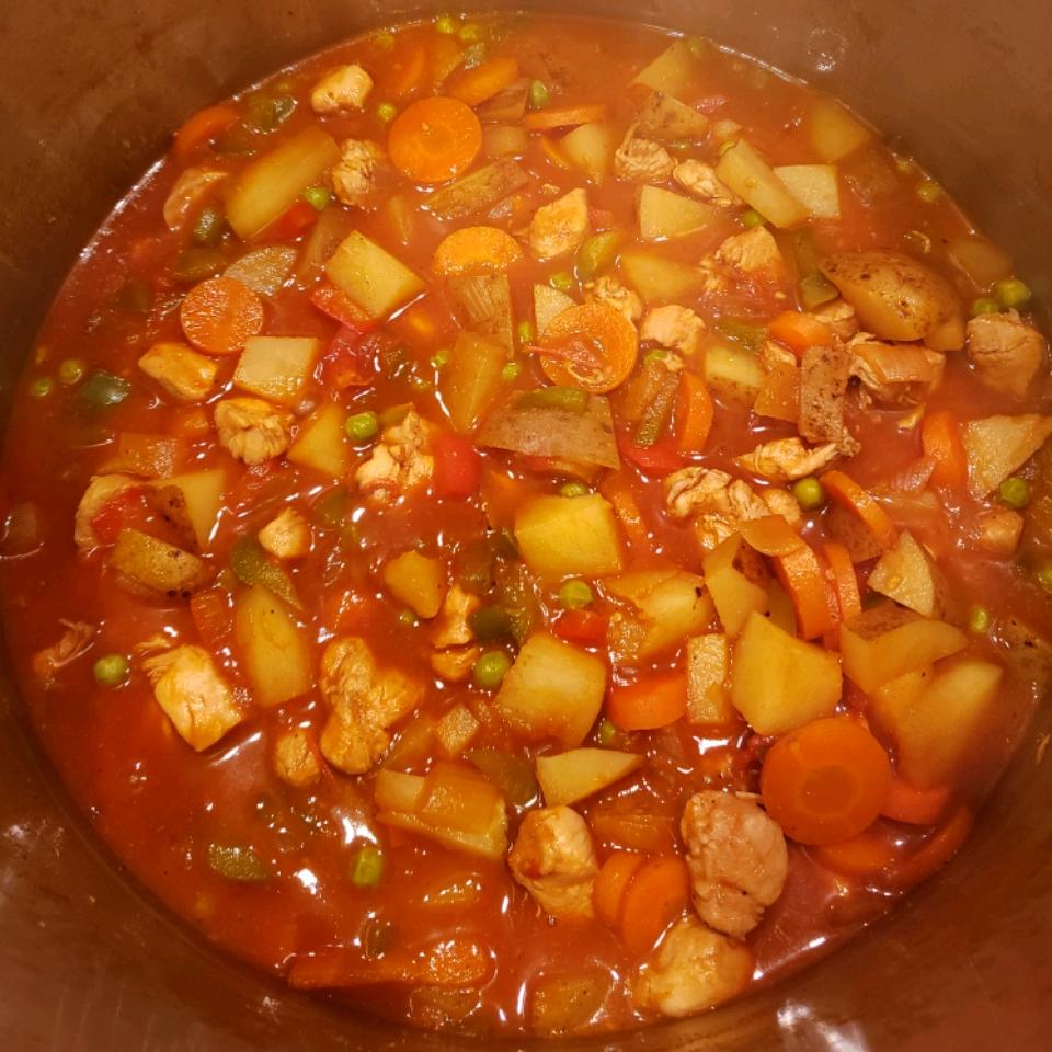 Chicken Afritada (Filipino Stew)