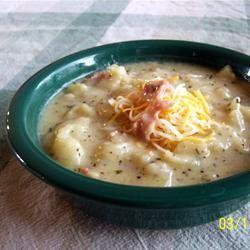Baked Potato Soup mommymeggy