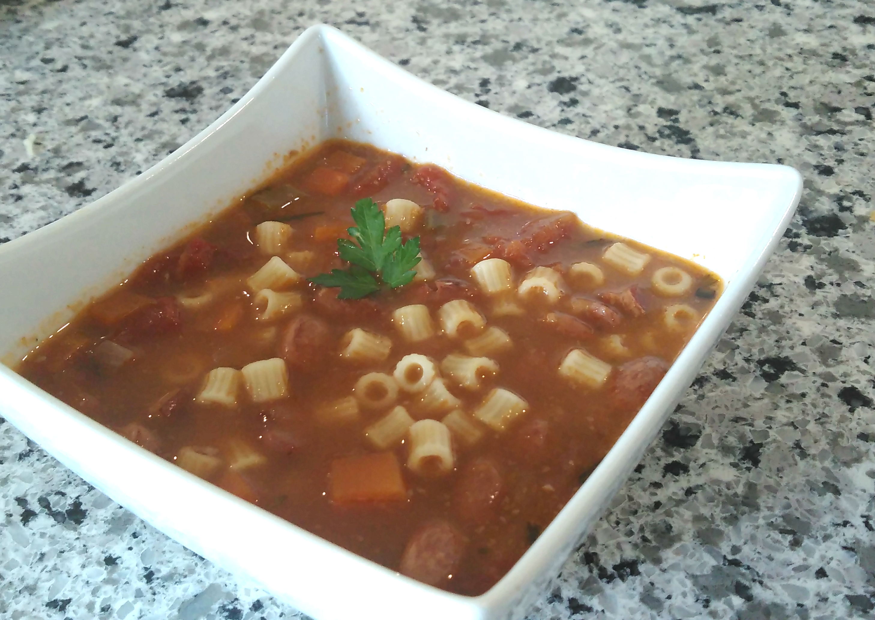 Instant Pot® Cranberry Bean Soup