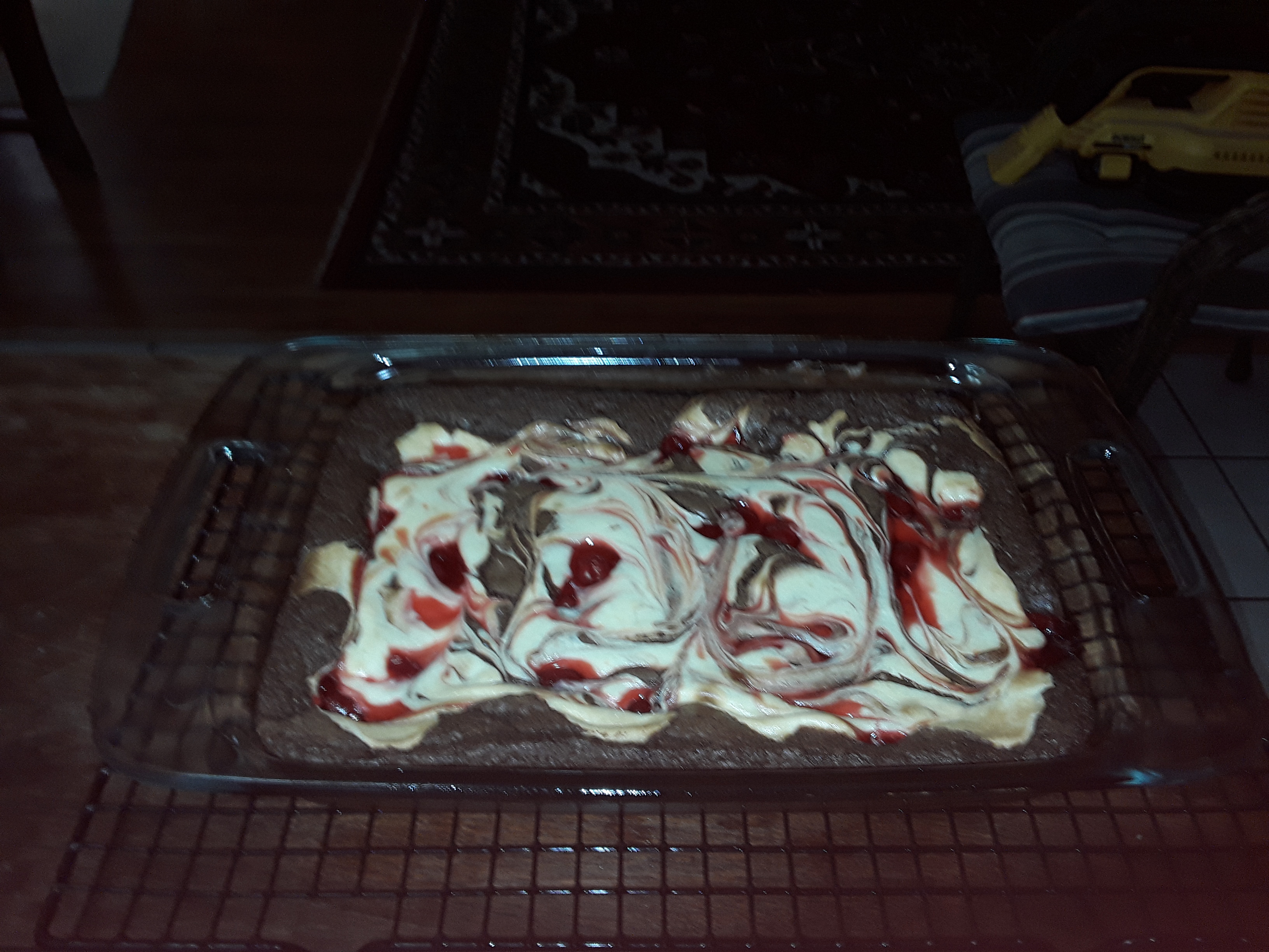 Cherry Cheesecake Brownies Cozetta Winn
