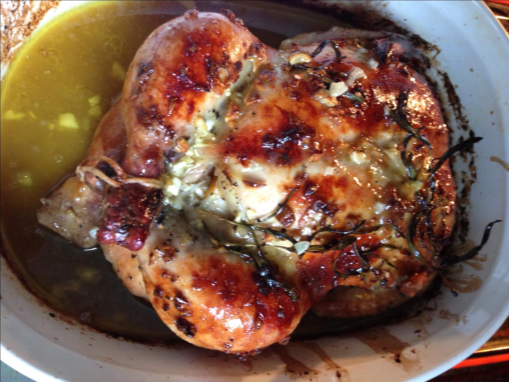 Orange Herb Roasted Chicken