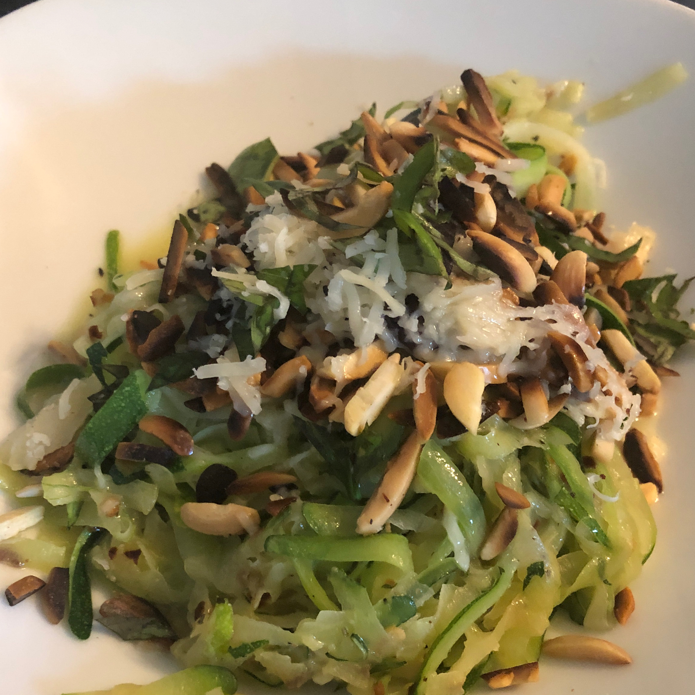 Spicy Butter Zoodles Marianna McElroy