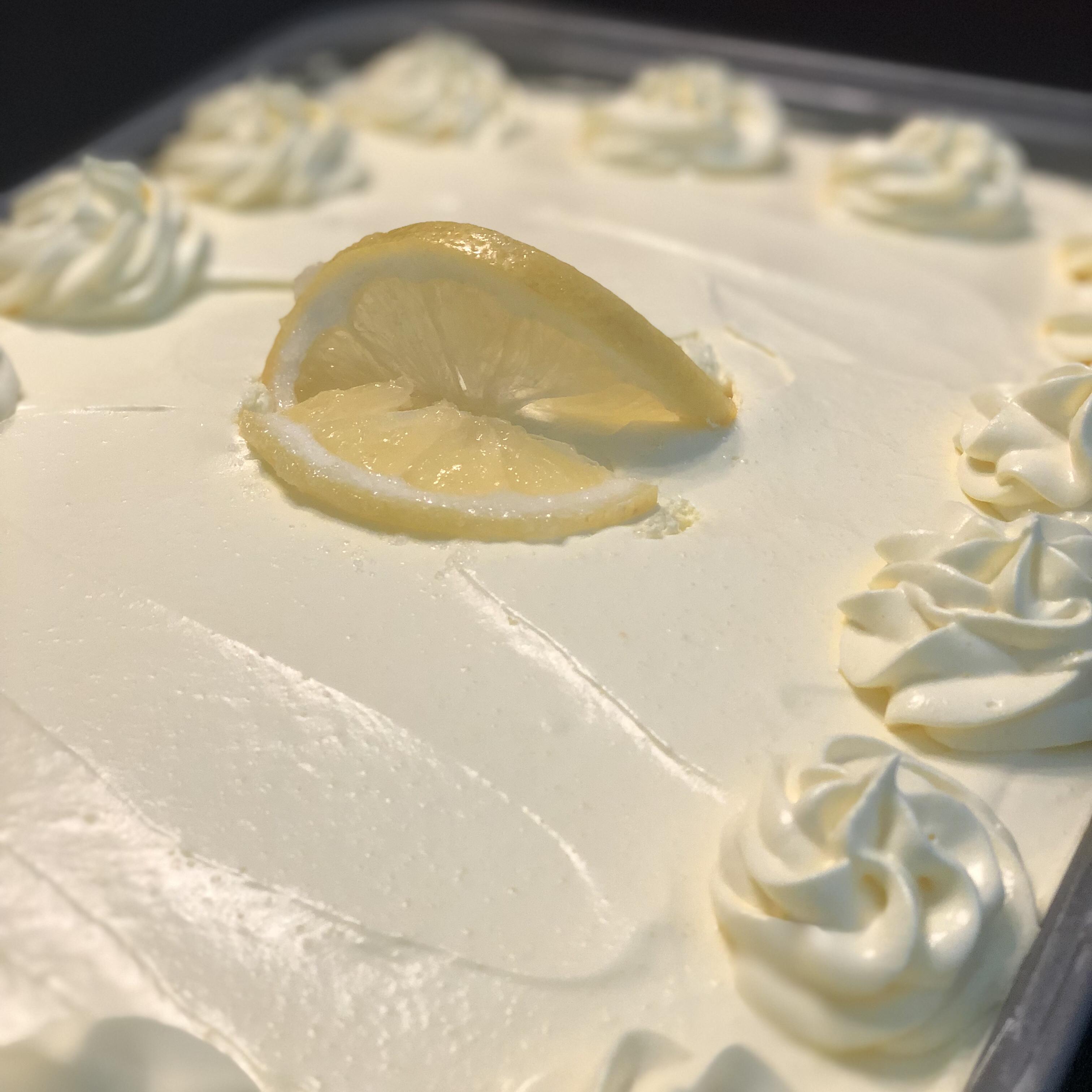 Lemon Cooler Cream Cake HILLY29