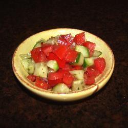 Tomato Cucumber Salad GodivaGirl