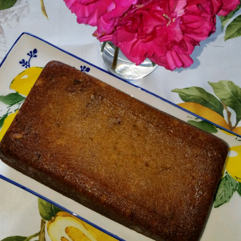 Simple Peanut Butter Banana Bread Bluefrogy