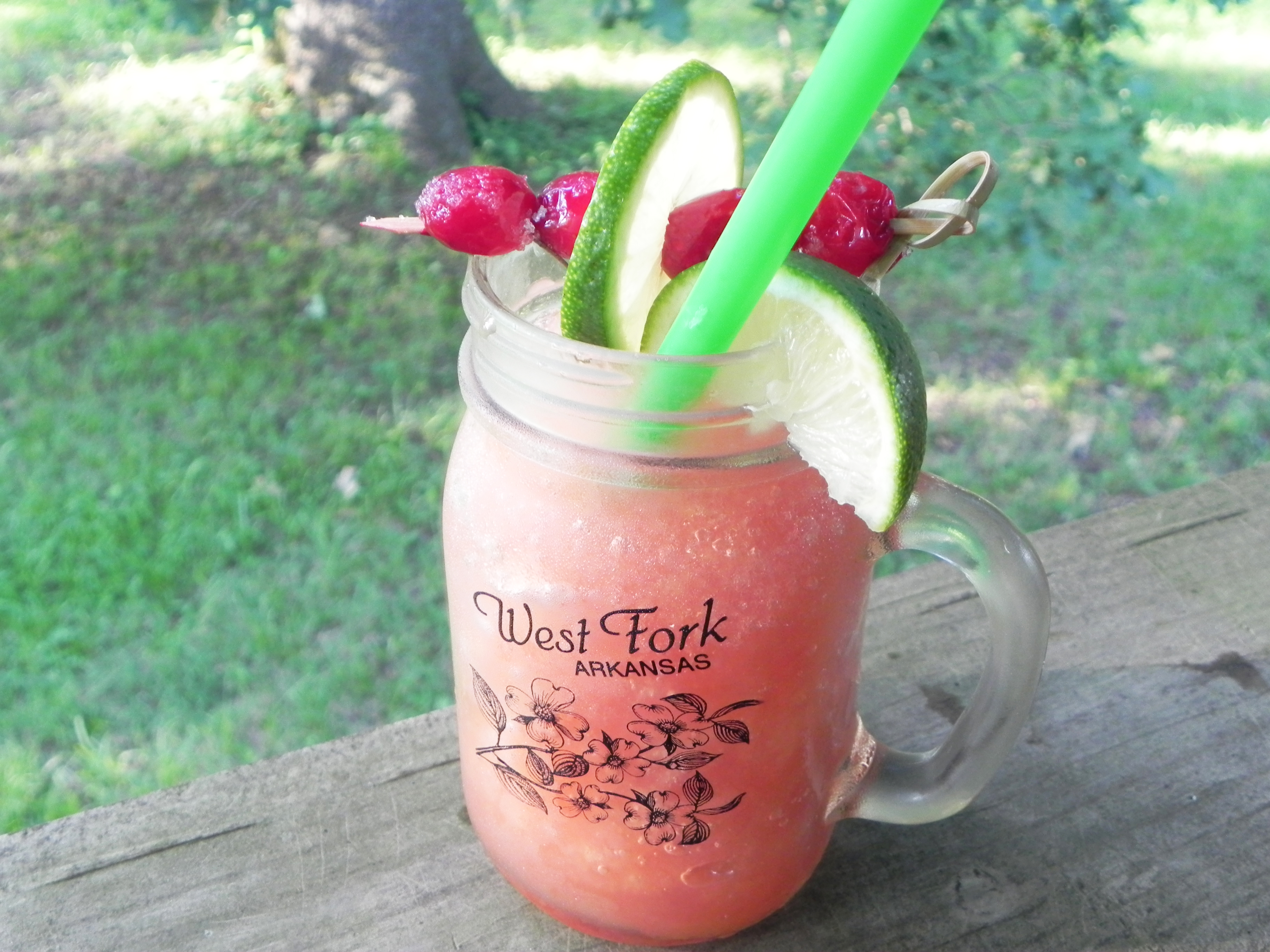 Cranberry Brandy Slush