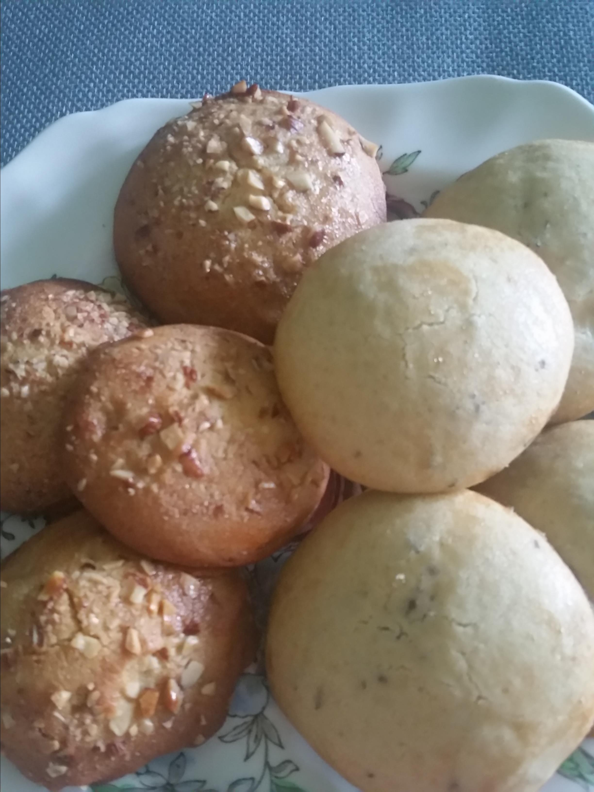 Ancient Honey Cakes (Rice Flour Cookies with Nuts or Poppy Seeds) Hardymum
