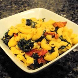 Spinach and Sun-Dried Tomato Pasta Passion4food
