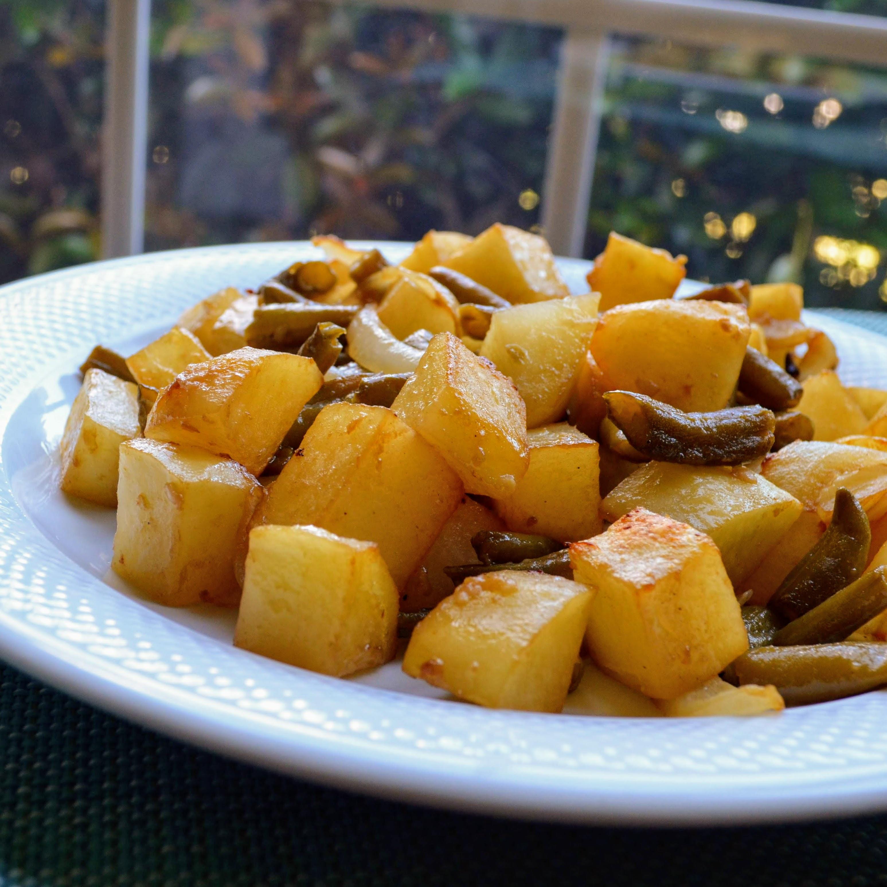 Maple-Mustard Glazed Vegetables