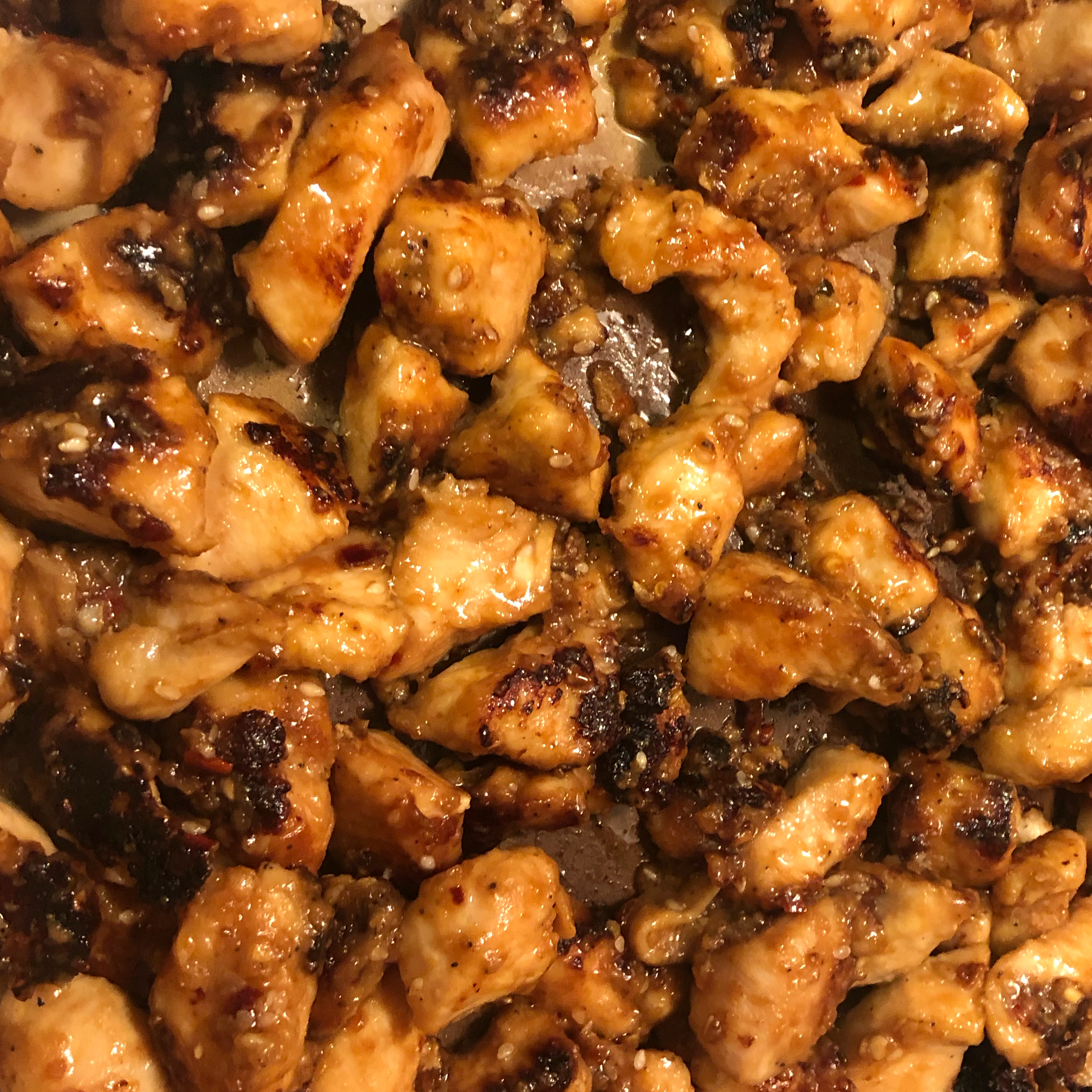 Simple Sauteed Sesame Chicken Chris G