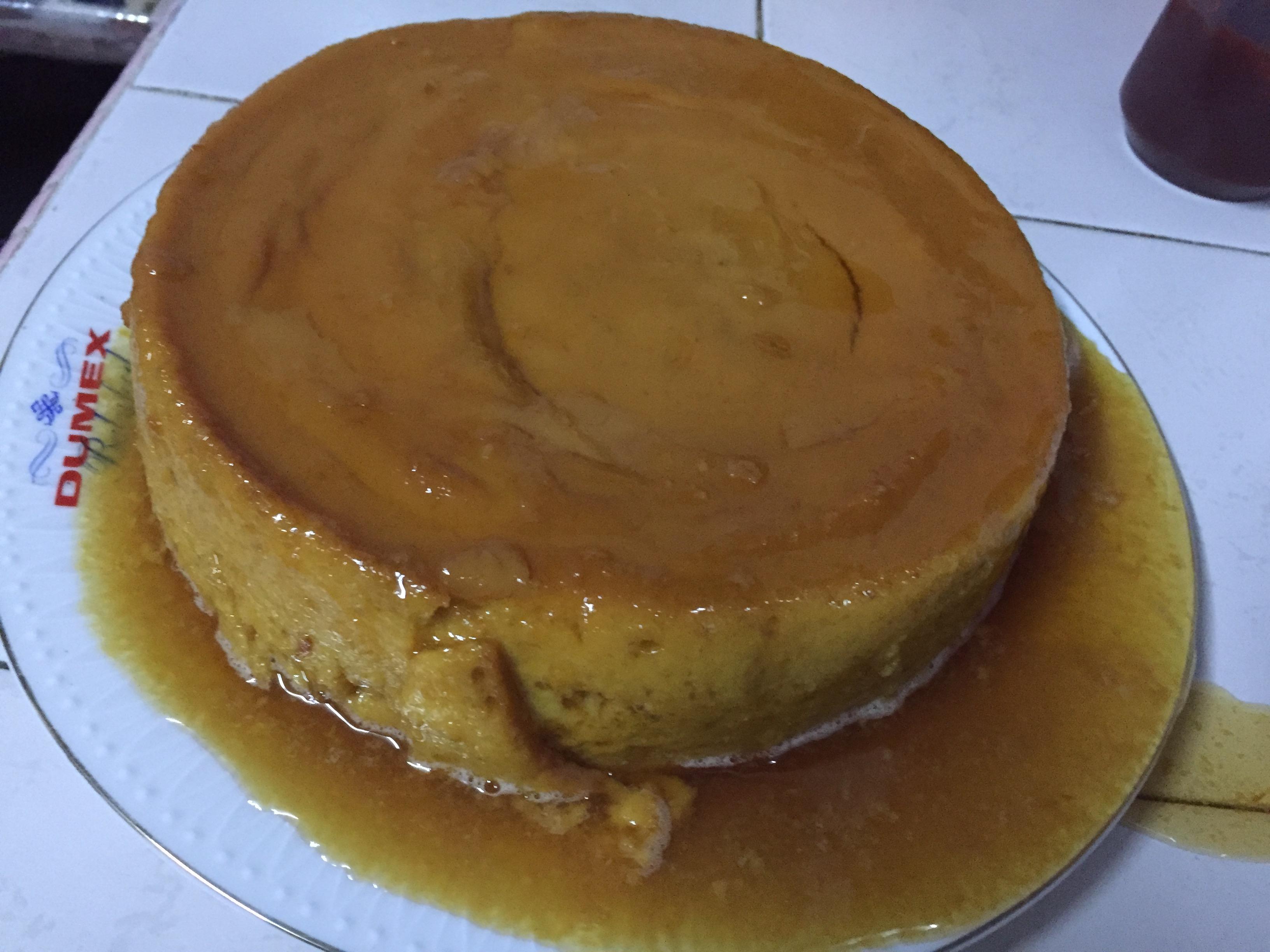 Mango Pudding (Flan de Mango)