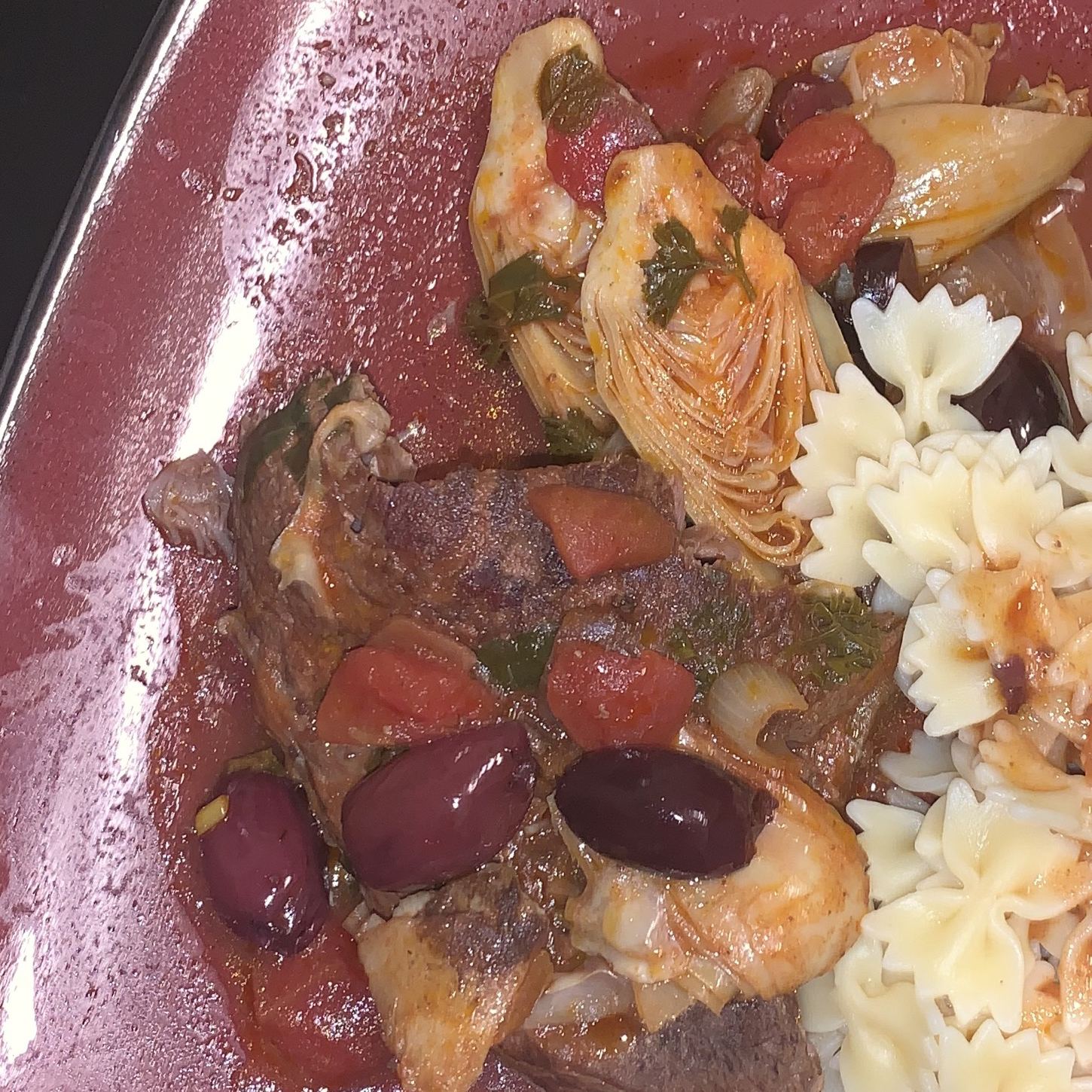 Slow Cooker Mediterranean Beef with Artichokes