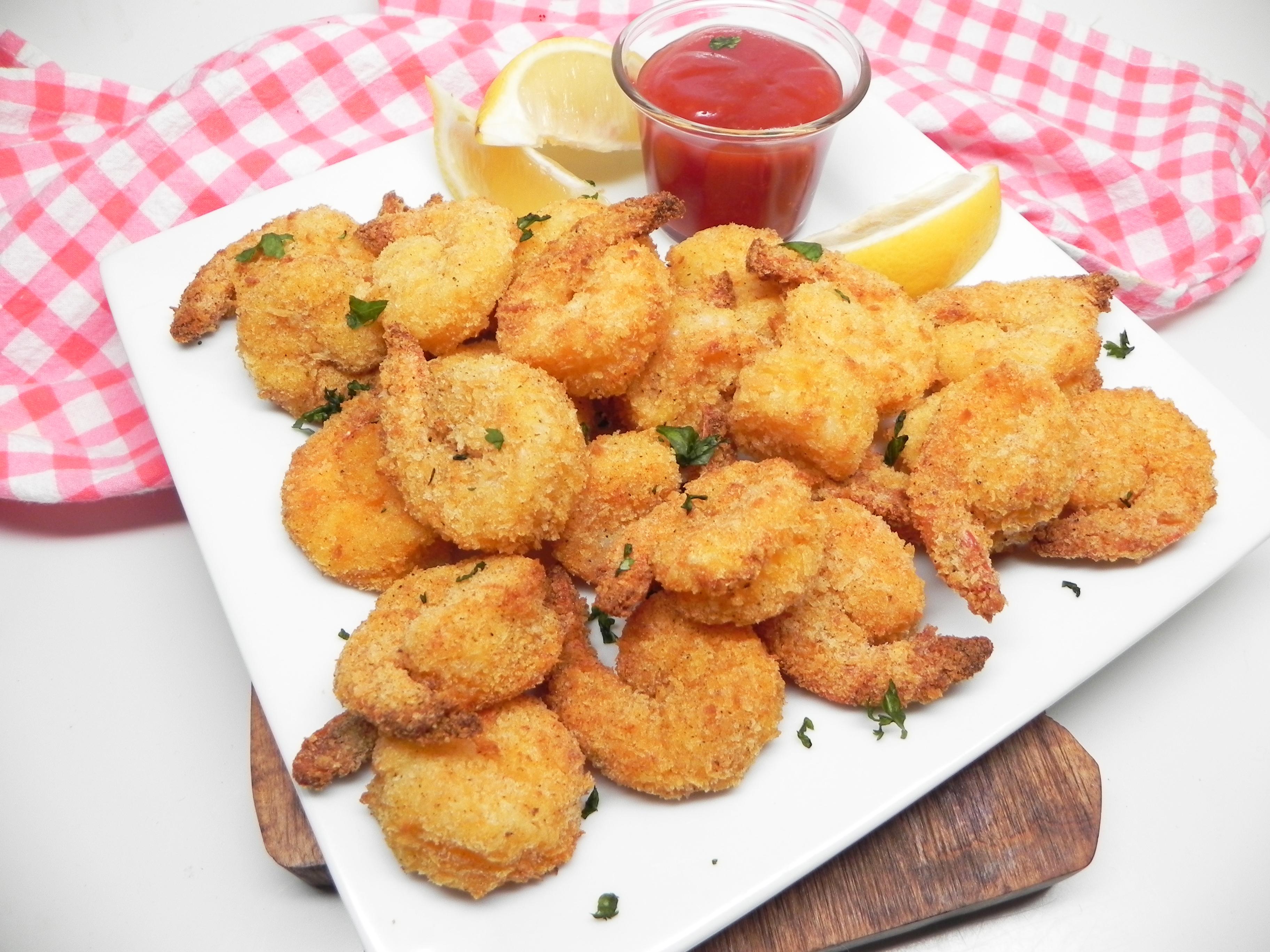Air Fryer Popcorn Shrimp Recipe Allrecipes