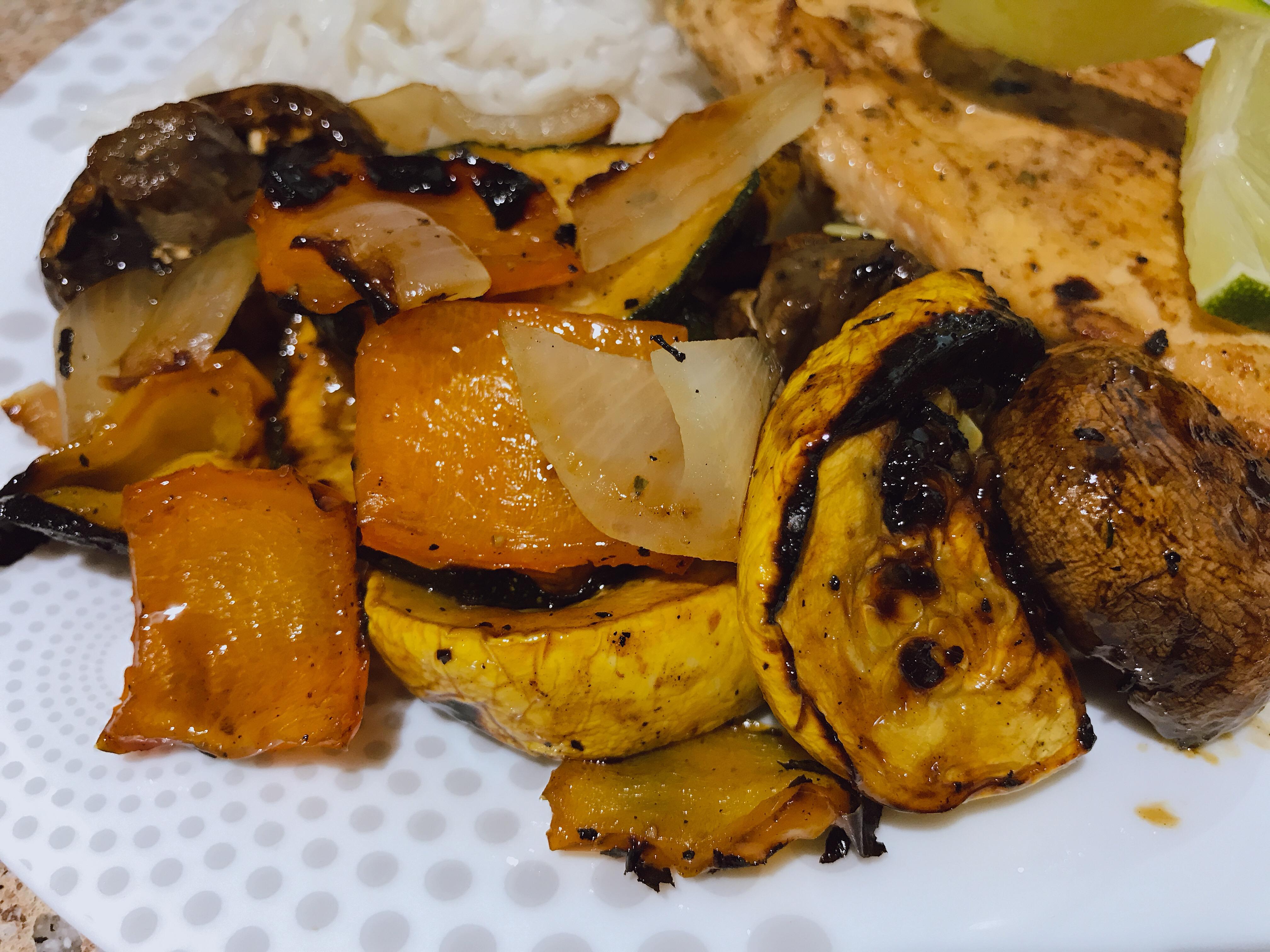 Teriyaki Grilled Vegetables thedailygourmet