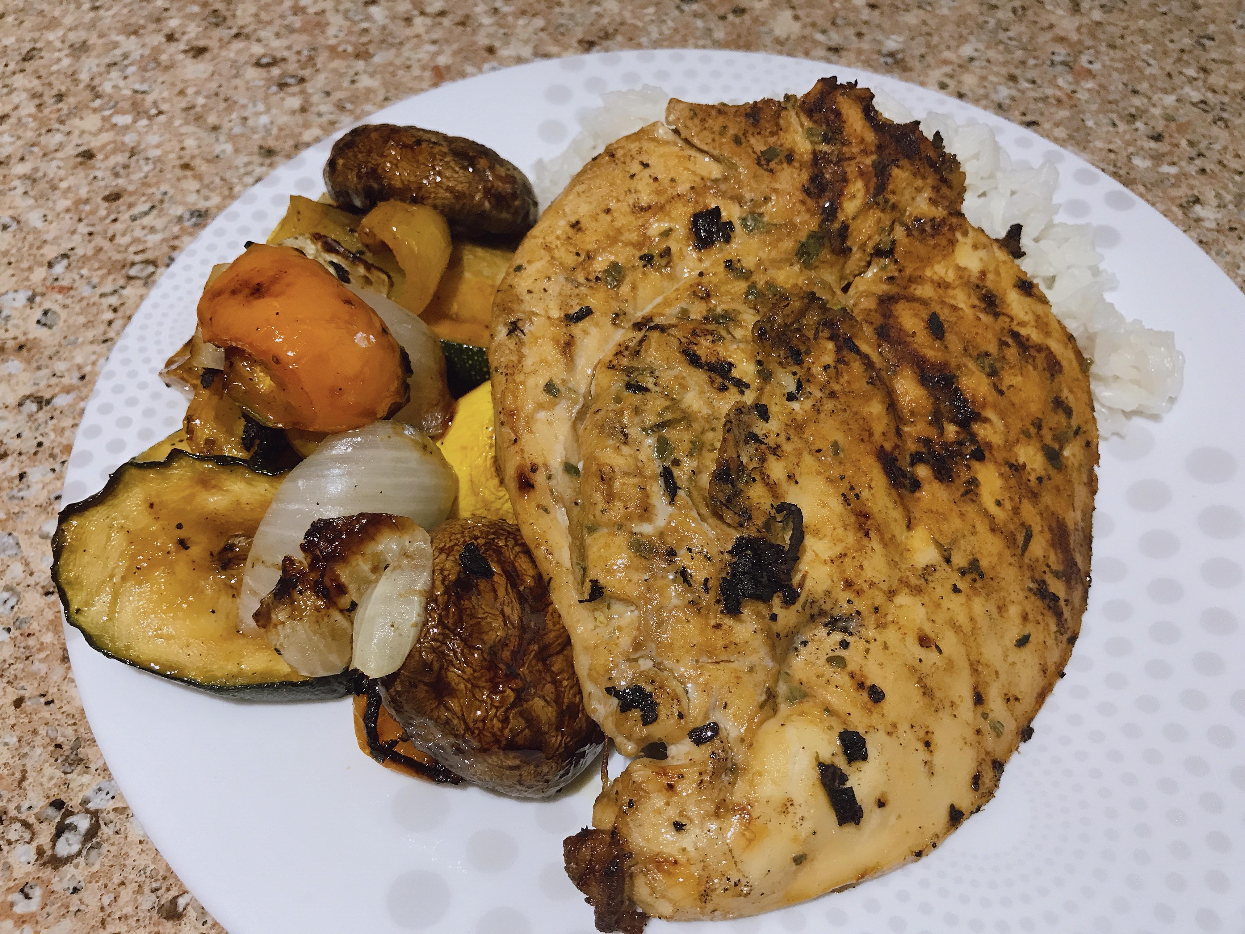 Grilled Pollo a la Brasa