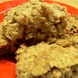 Apple Oatmeal Bar Cookies Scotdog
