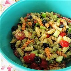 Crab and Shrimp Pasta Salad