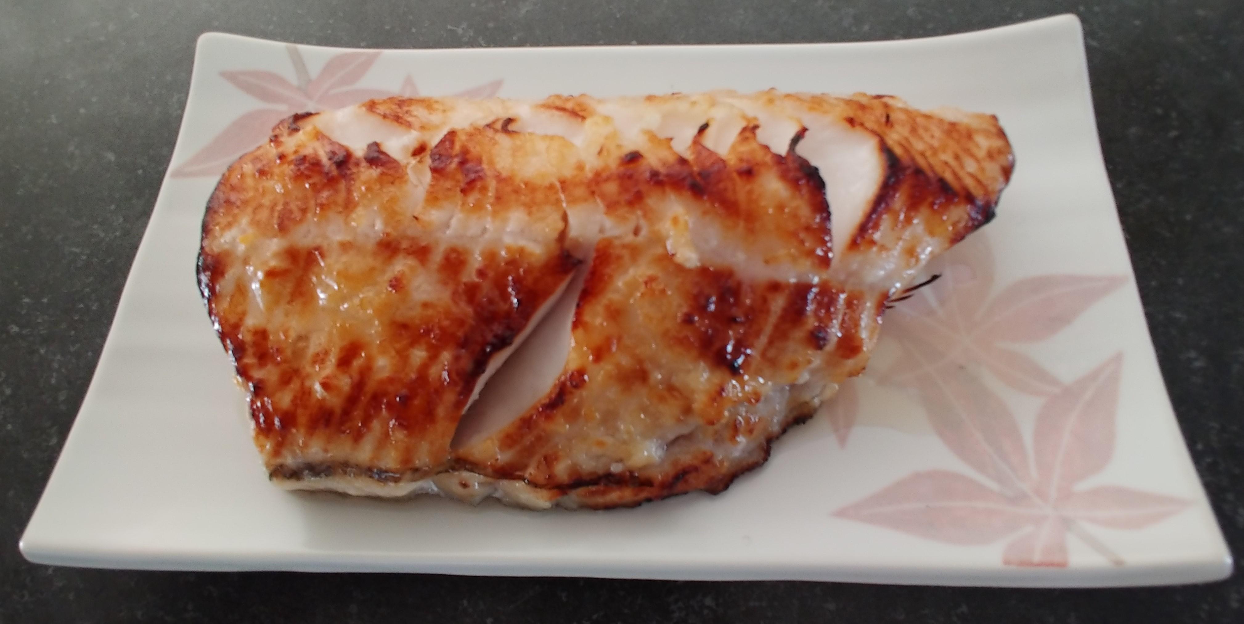 Miso-Glazed Black Cod