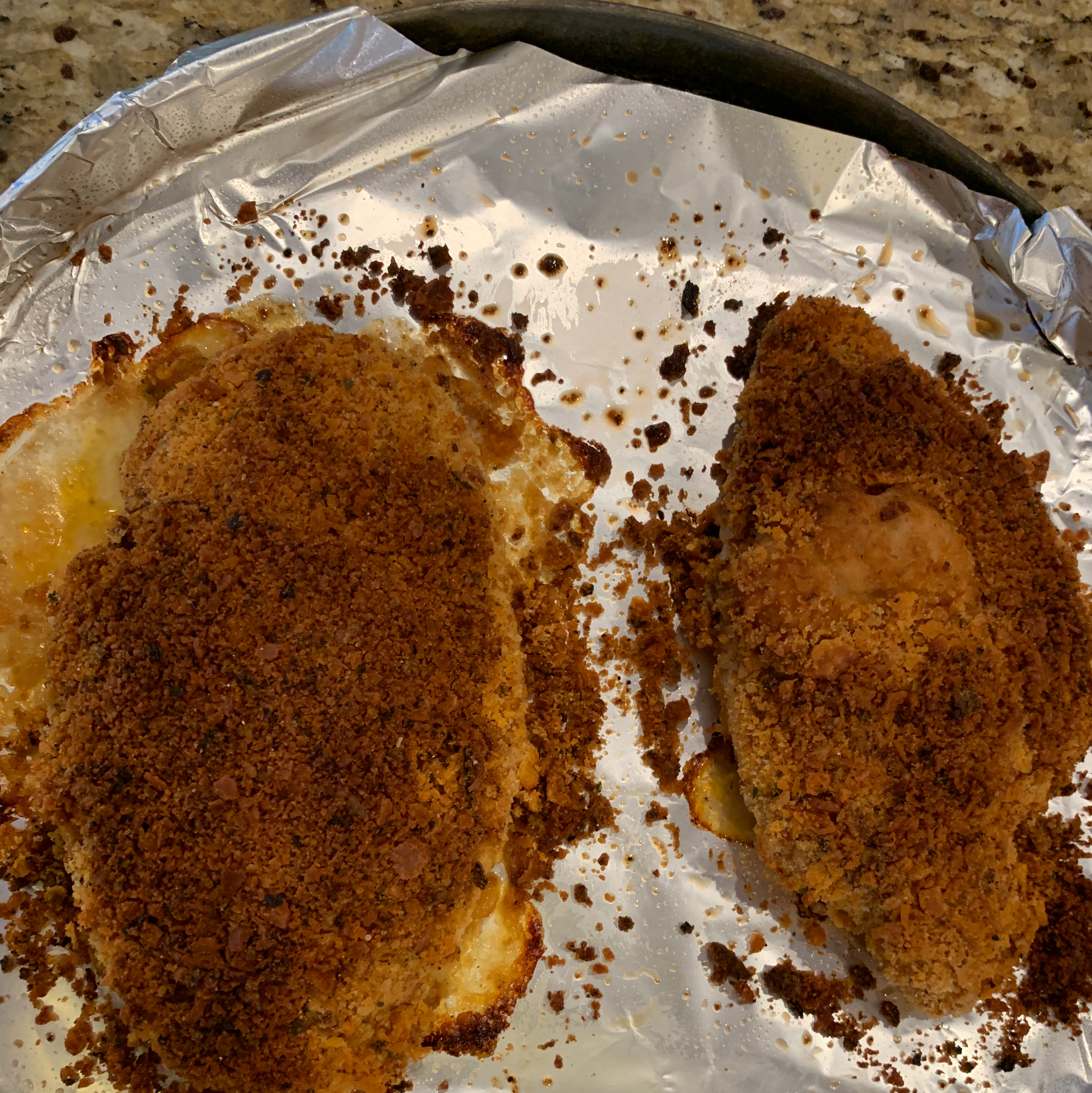 Amazing Crusted Chicken