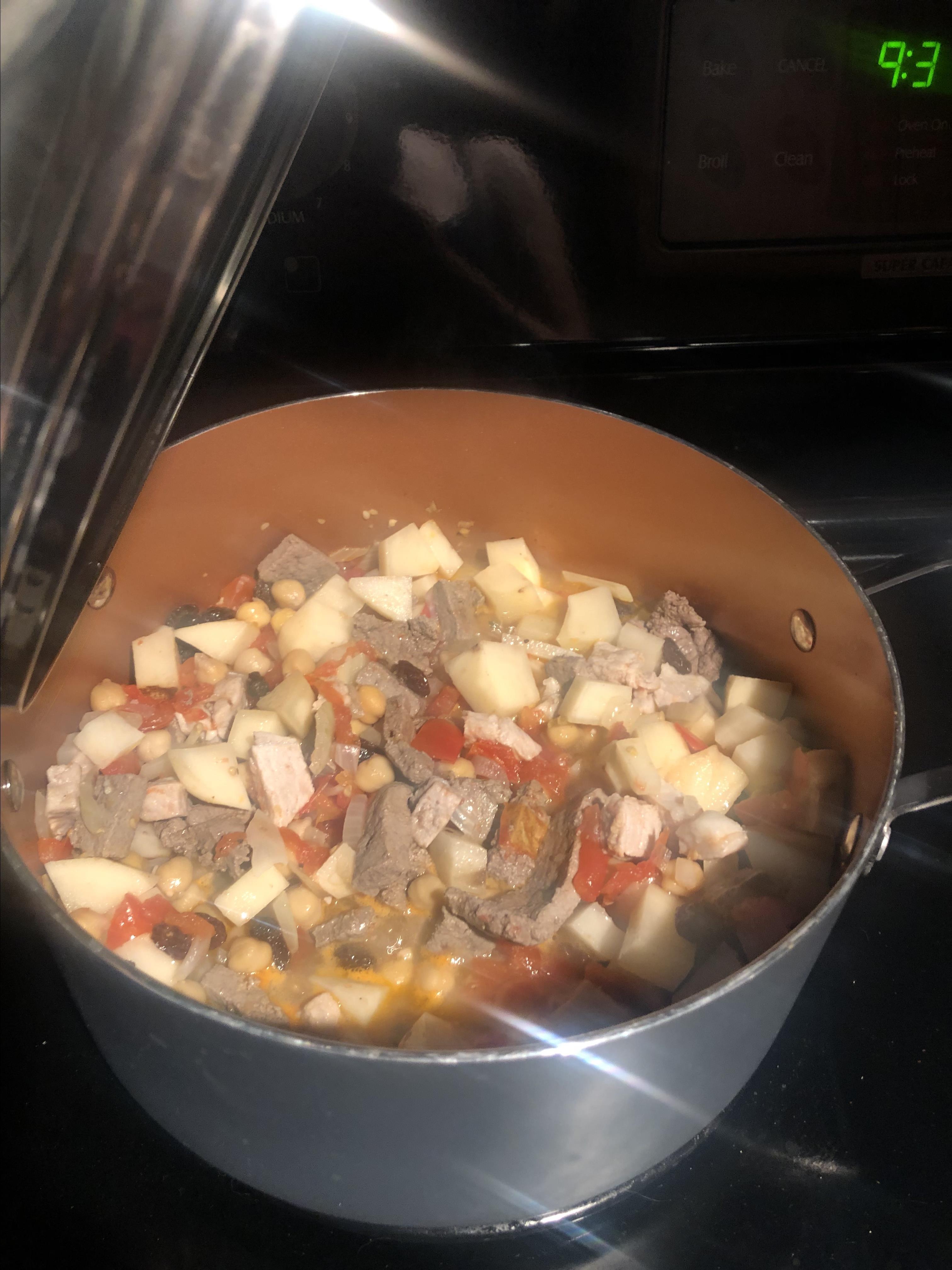 Filipino Menudo (Pork and Liver Stew)