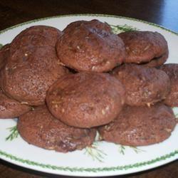 Mom's Chocolate Zucchini Cookies Deb C