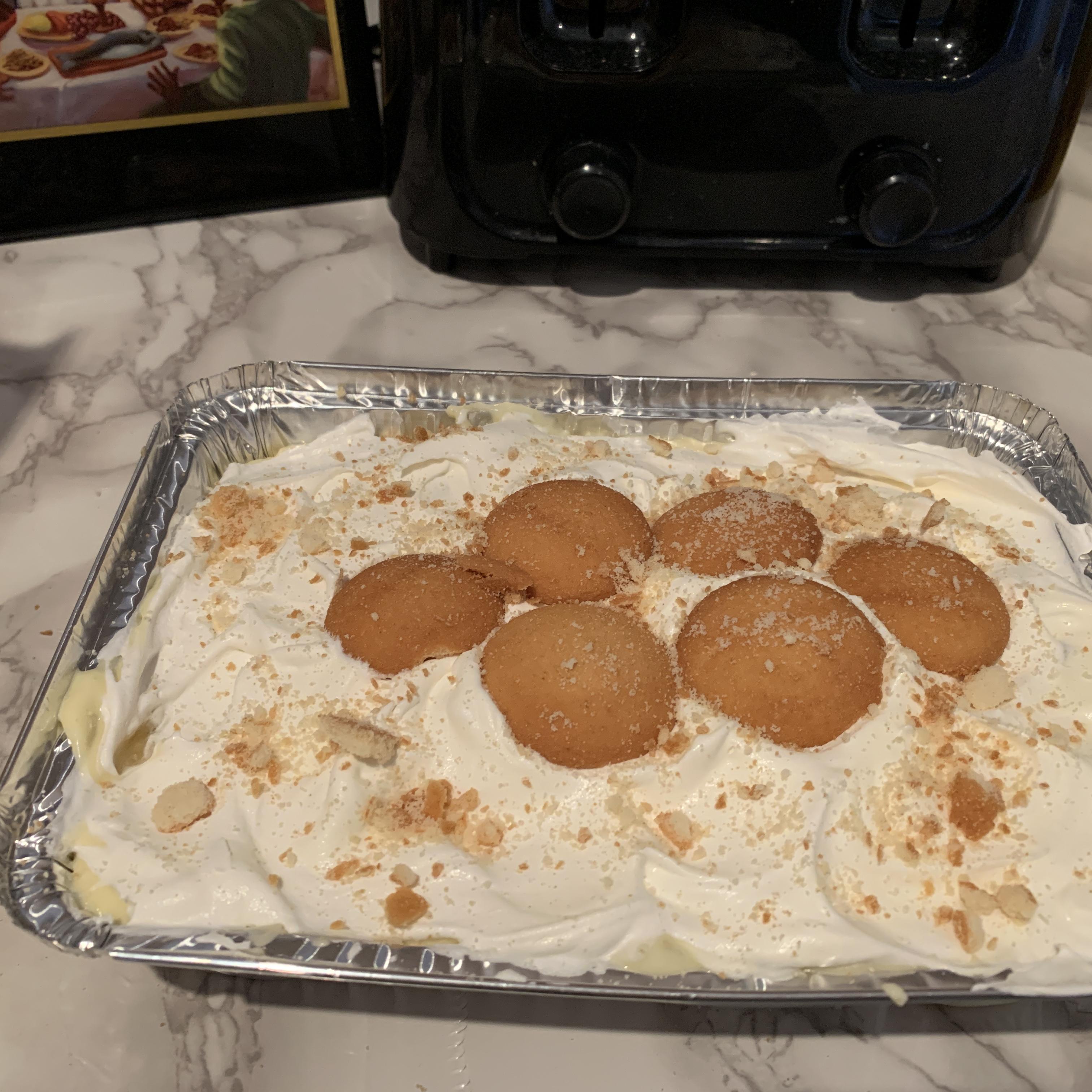 Aunt Betty's Banana Pudding