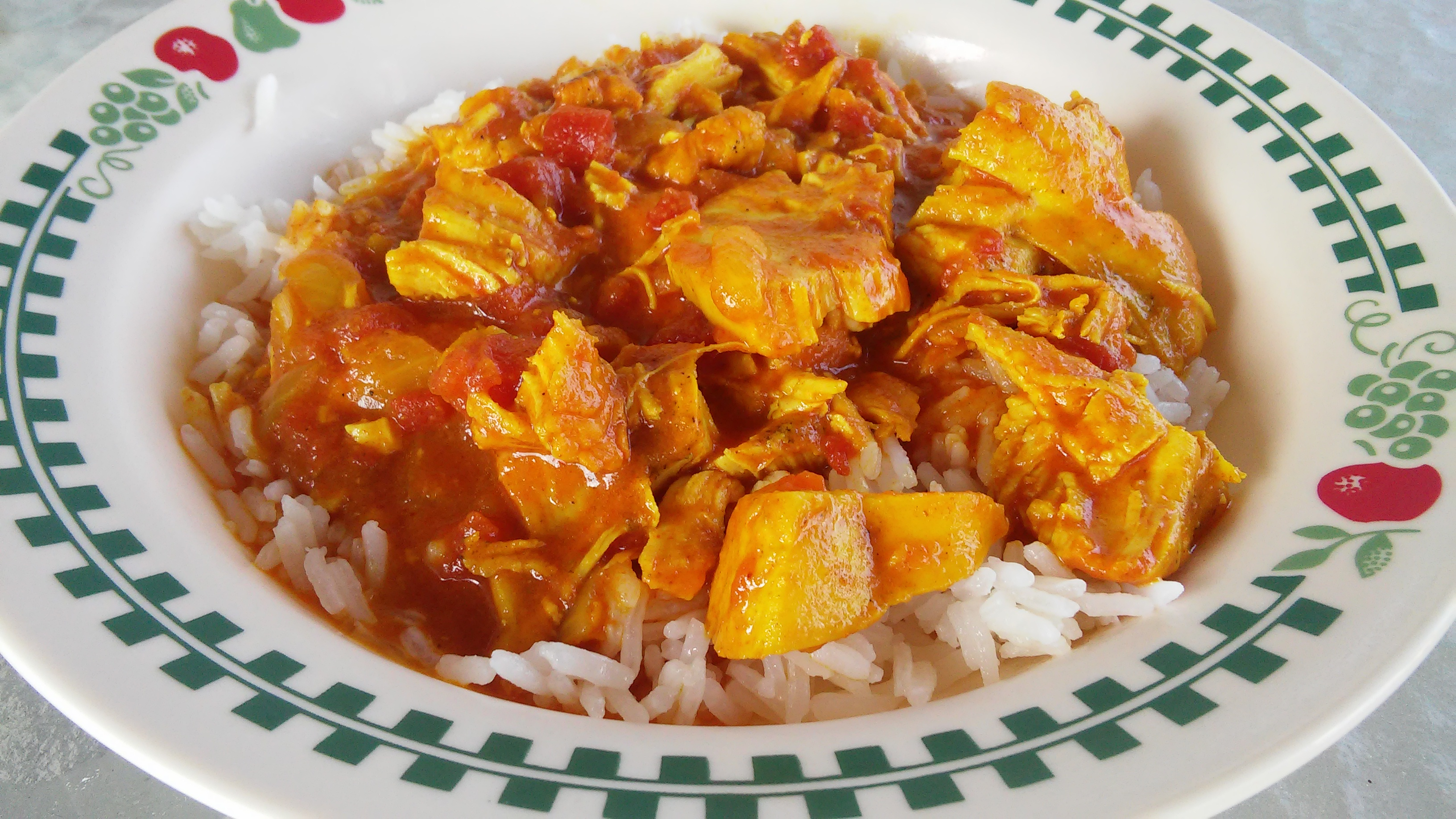 Instant Pot® Coconut Curry Chicken Helene Choi