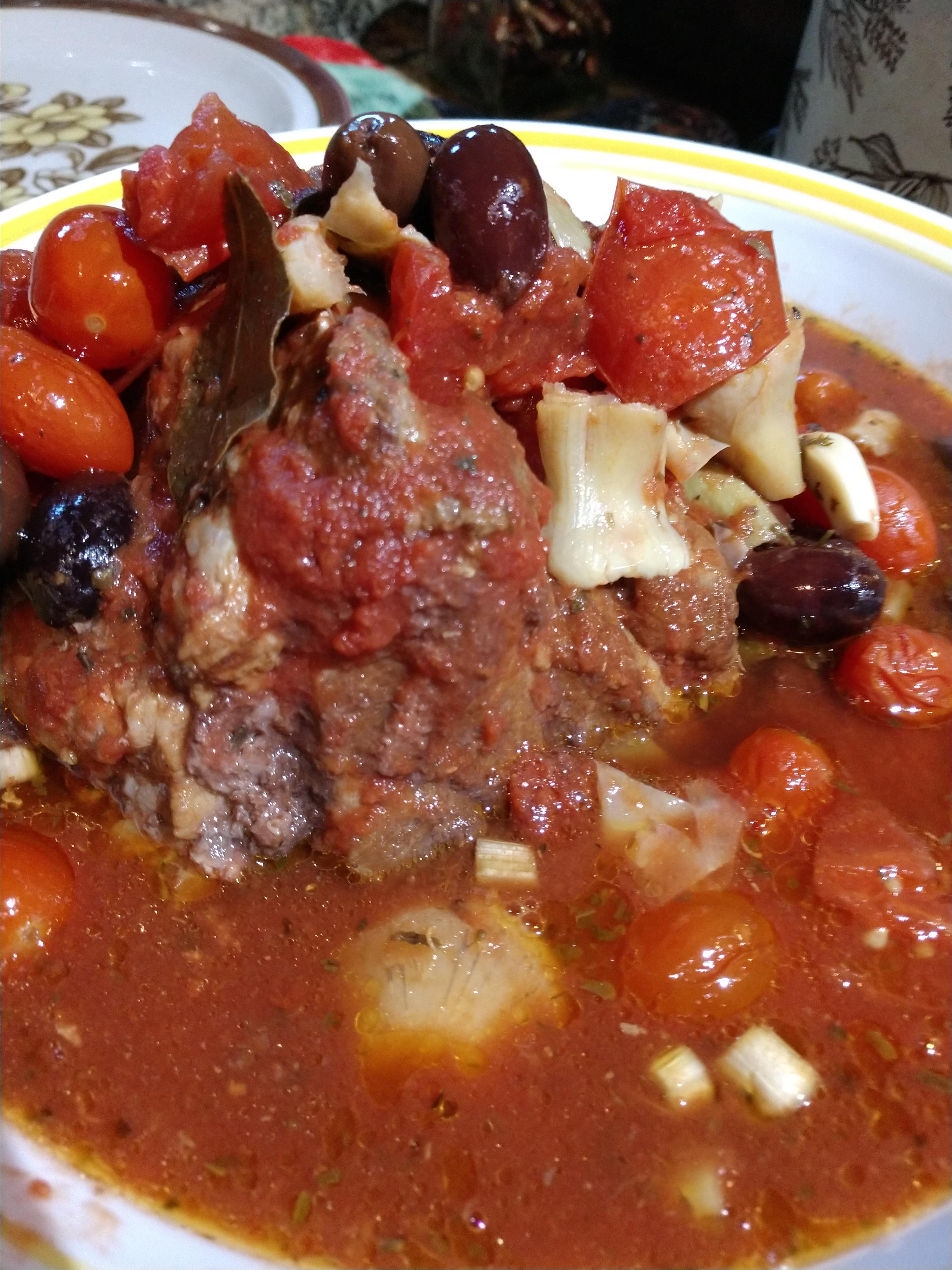 Slow Cooker Mediterranean Beef with Artichokes Janet