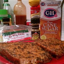 Sweet and Tangy Glazed Salmon