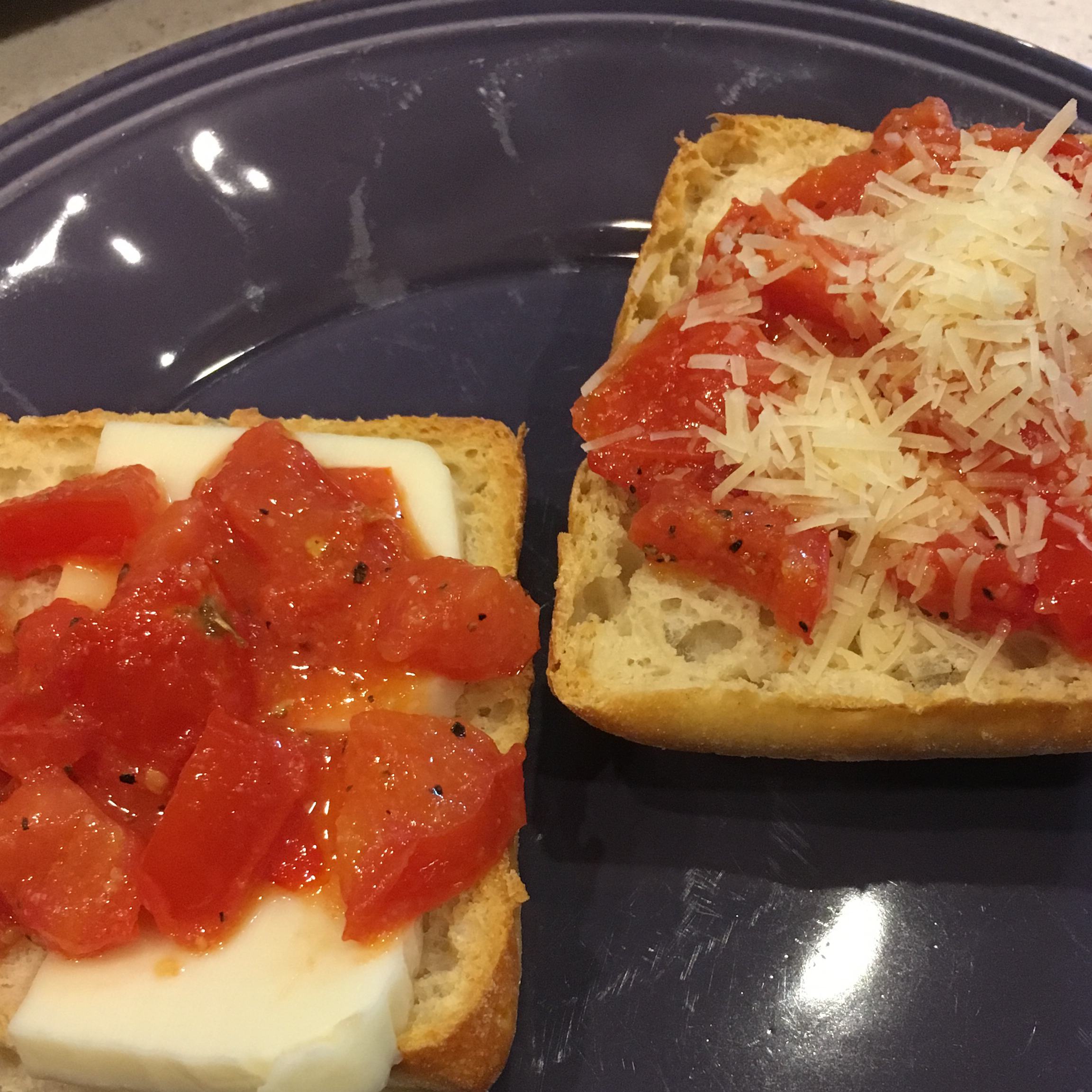 Tomato Garlic Bread Recipe Allrecipes