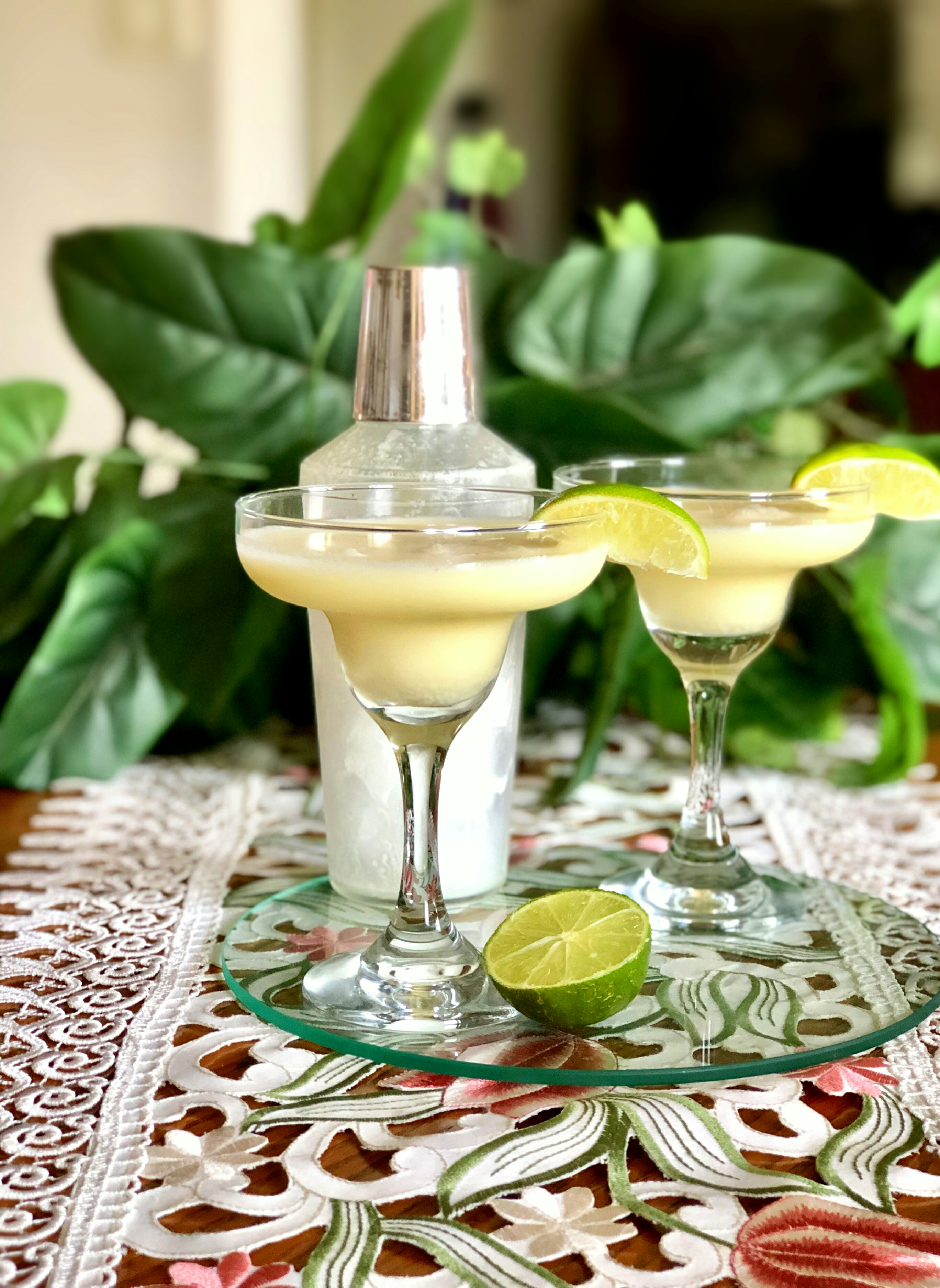 Coconut Lime Martinette (Alcohol-Free)