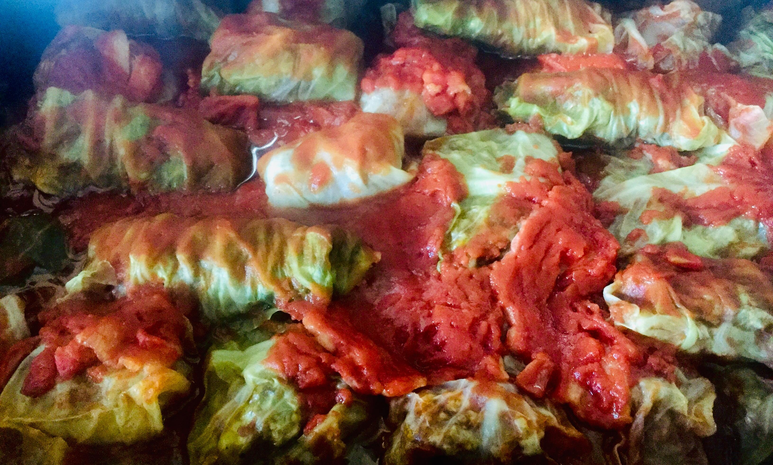 Golabki (Stuffed Cabbage Rolls)