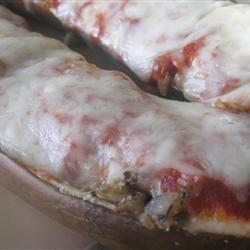 Stuffed Eggplant Parmesan mommyluvs2cook