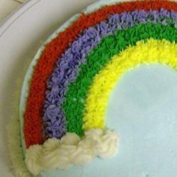 Rainbow Cake makescakes
