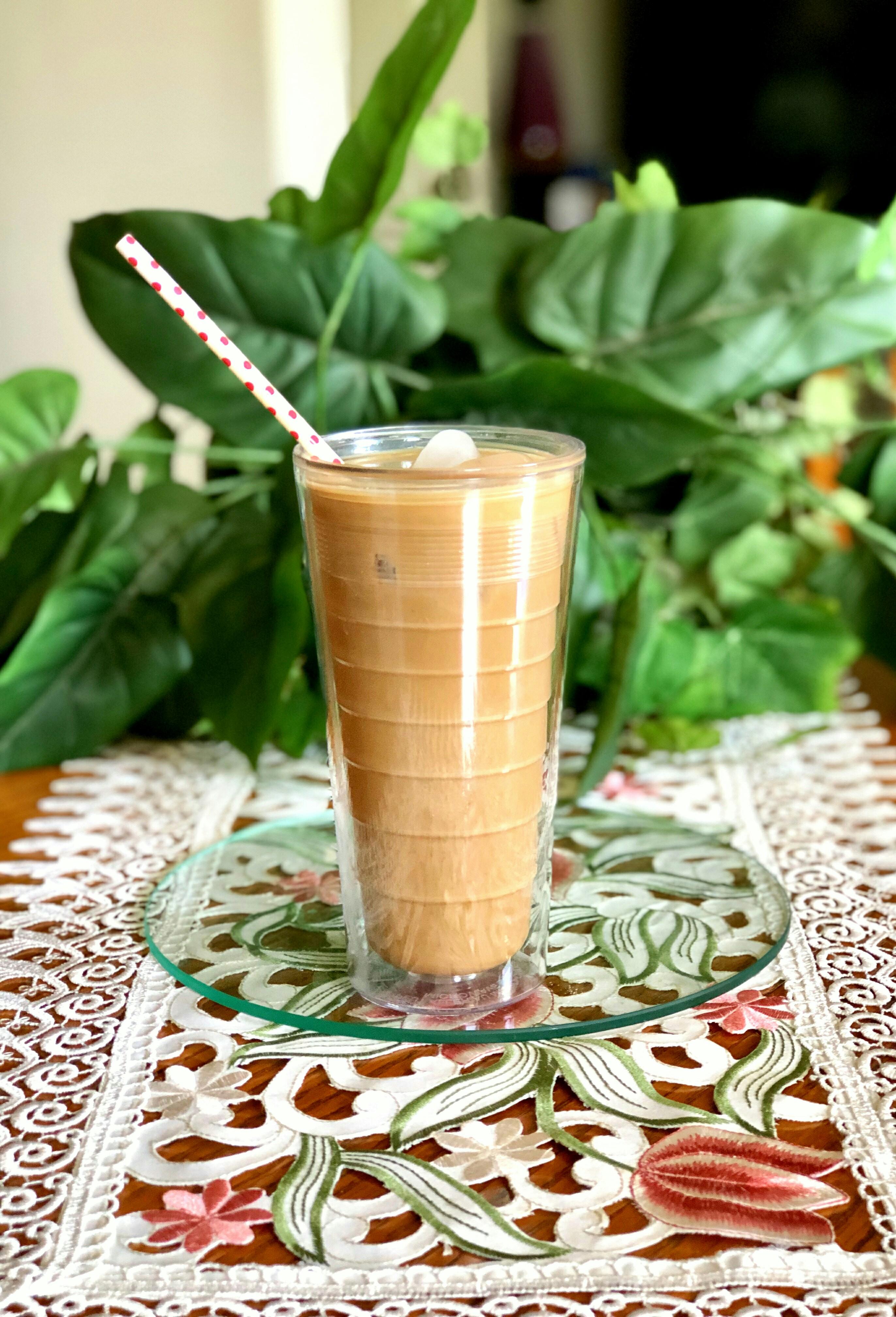 Creamy Maple Coffee Punch