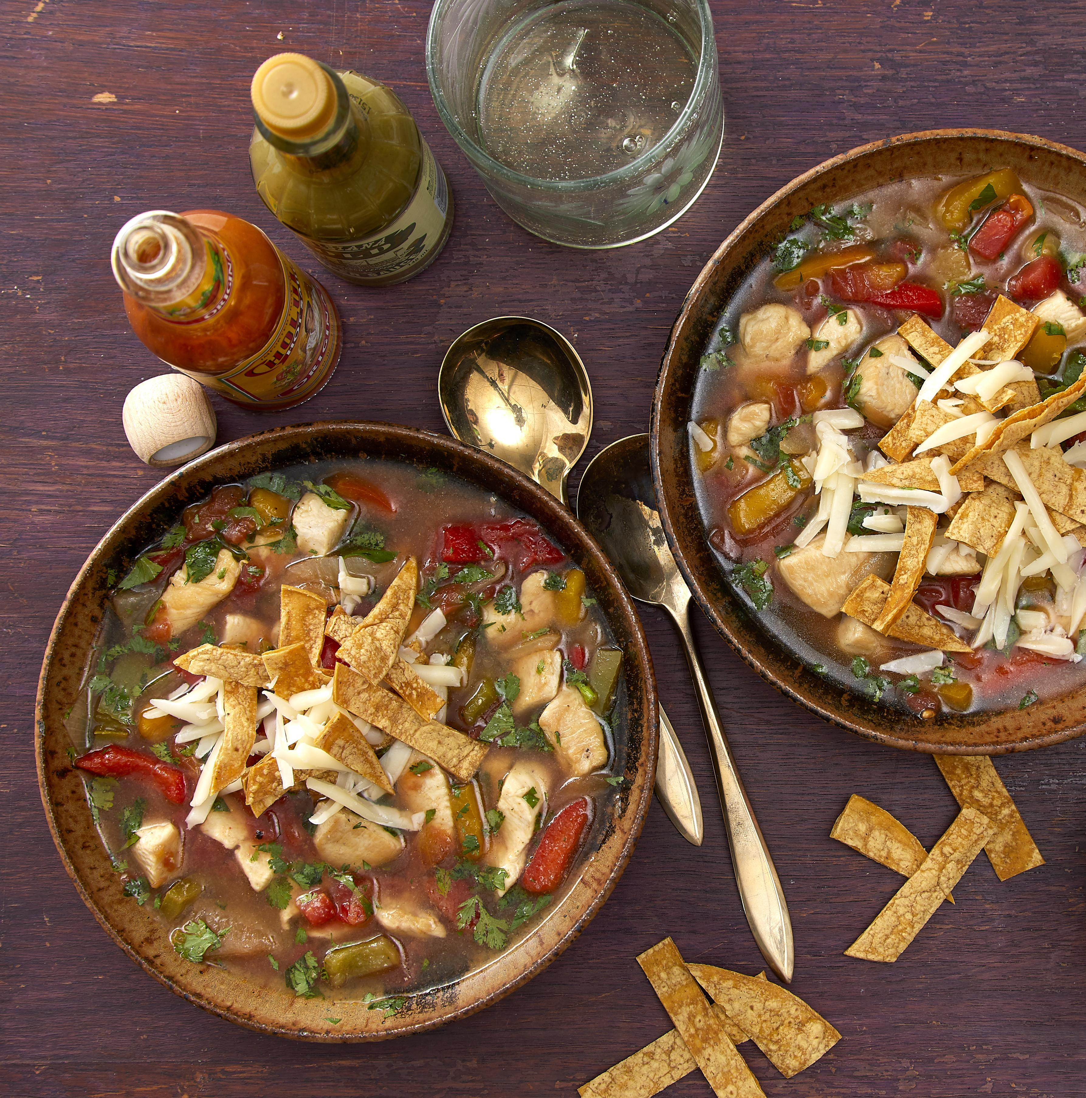 Chicken Tortilla Soup EatingWell Test Kitchen