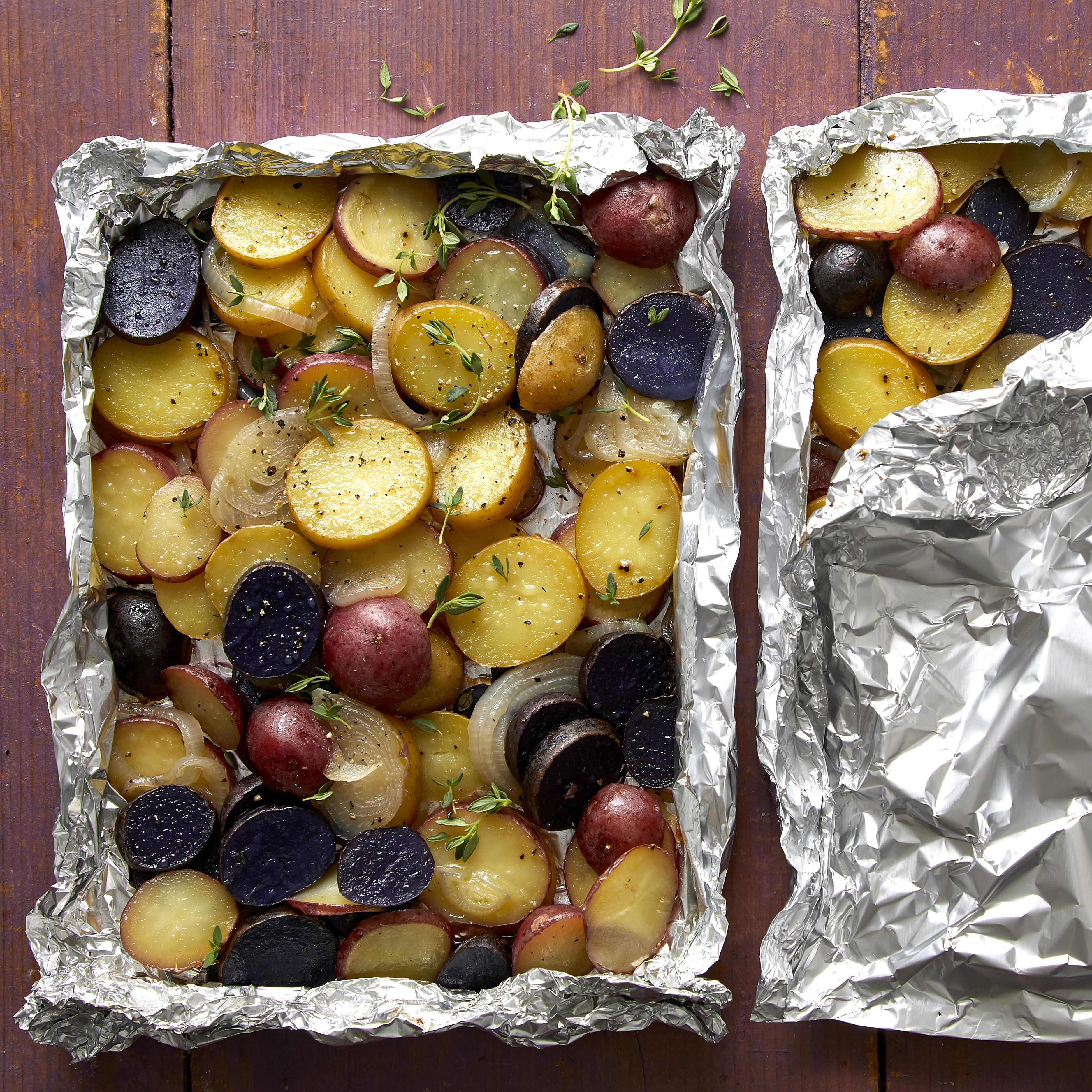 Grilled Potato Packets Beth-Ann Bove