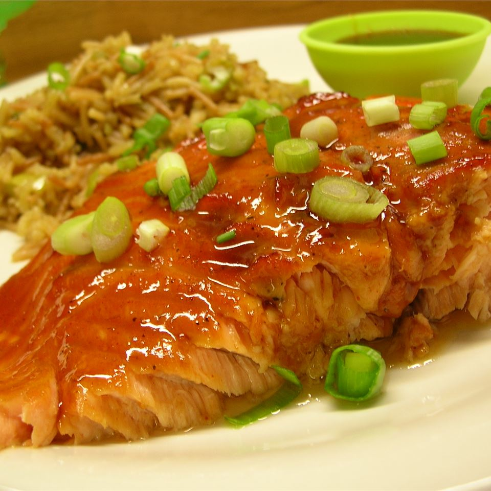 Pepper-Honey Cedar Plank Salmon *Sherri*